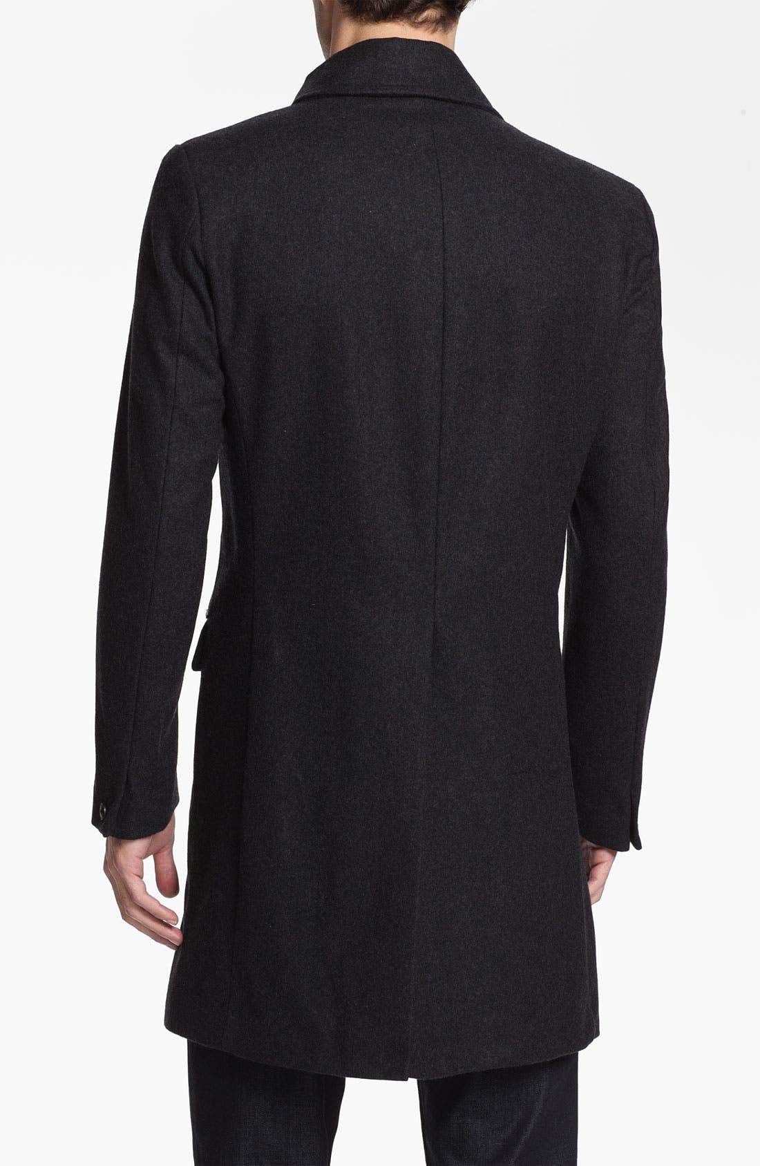 Alternate Image 2  - Antony Morato Wool Blend Long Coat