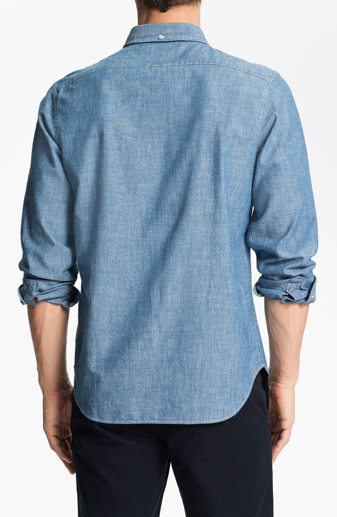 Alternate Image 2  - Bonobos 'Fall River' Standard Fit Chambray Sport Shirt
