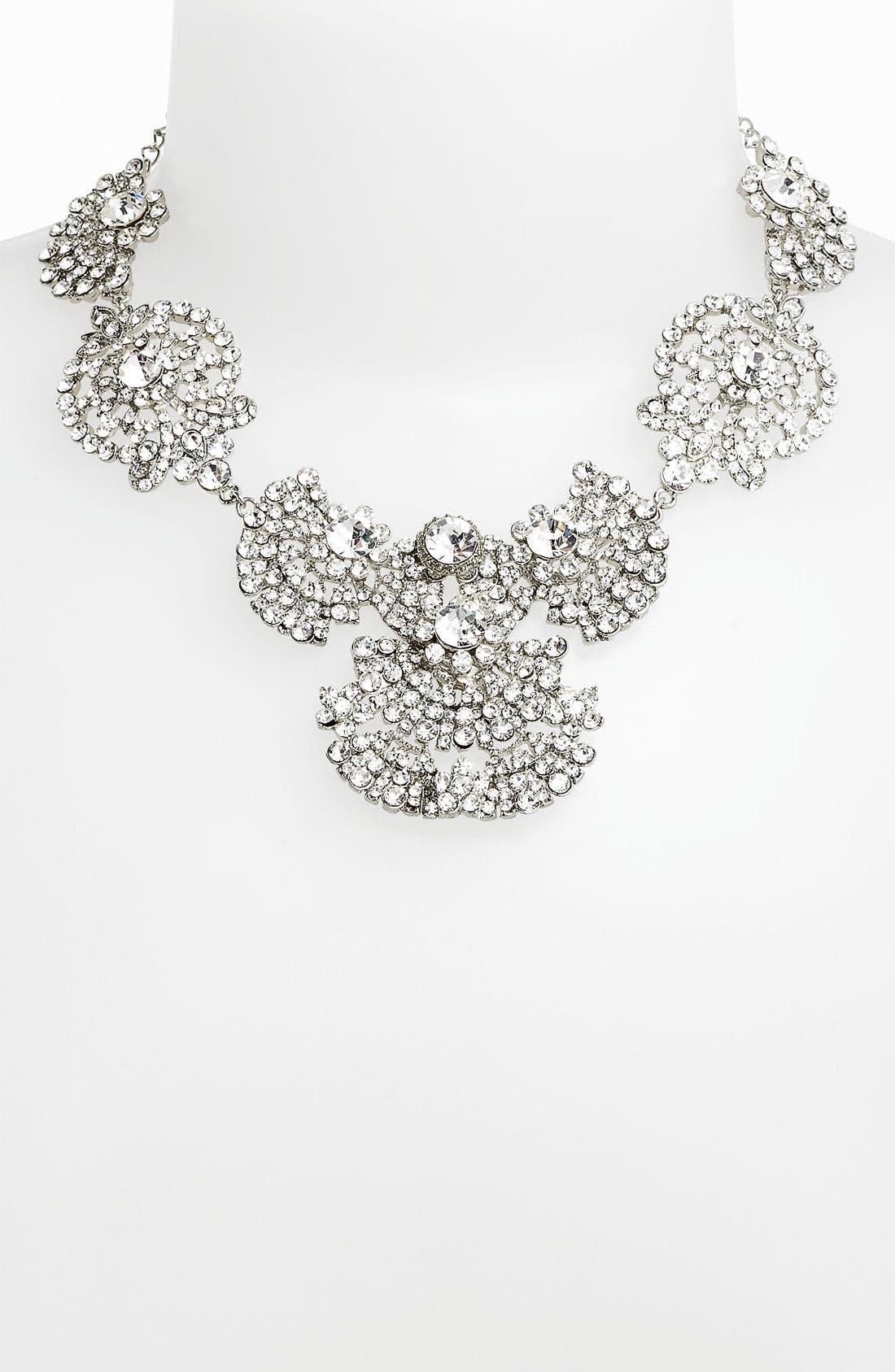 Main Image - Nina 'Acacia' Crystal Frontal Necklace