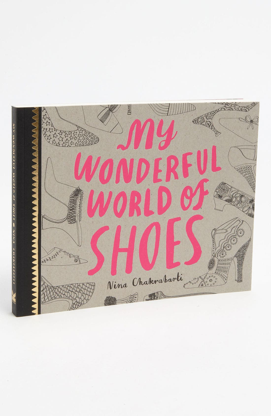 Alternate Image 1 Selected - Nina Chakrabarti 'My Wonderful World Of Shoes' Coloring Book