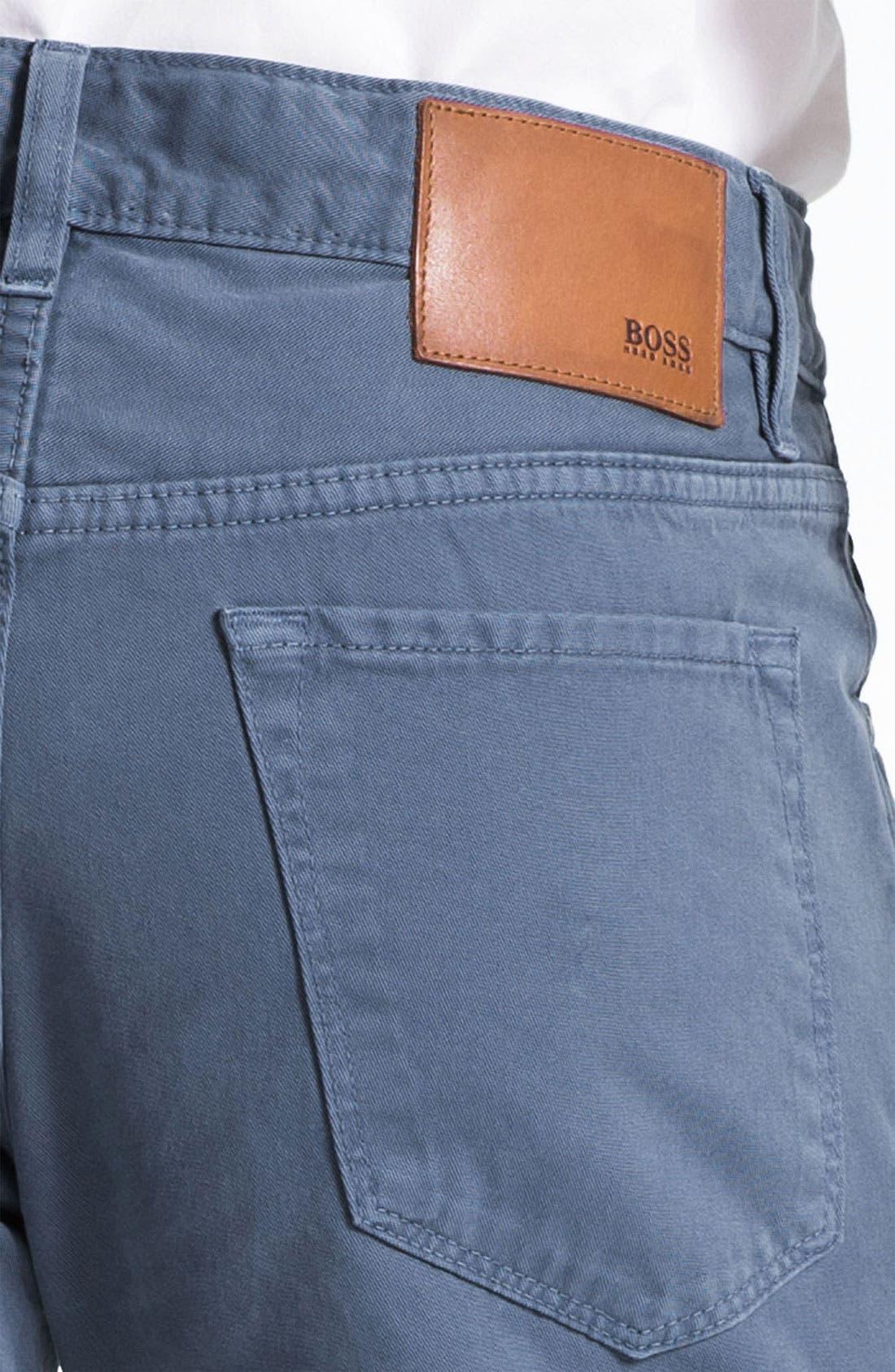 Alternate Image 3  - BOSS HUGO BOSS 'Maine' Five Pocket Pants