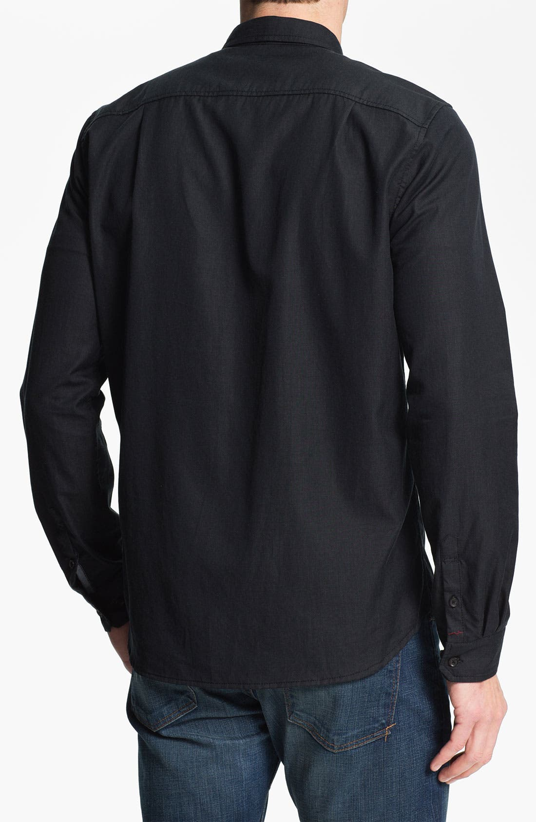 Alternate Image 2  - 7 For All Mankind® Cotton Woven Shirt