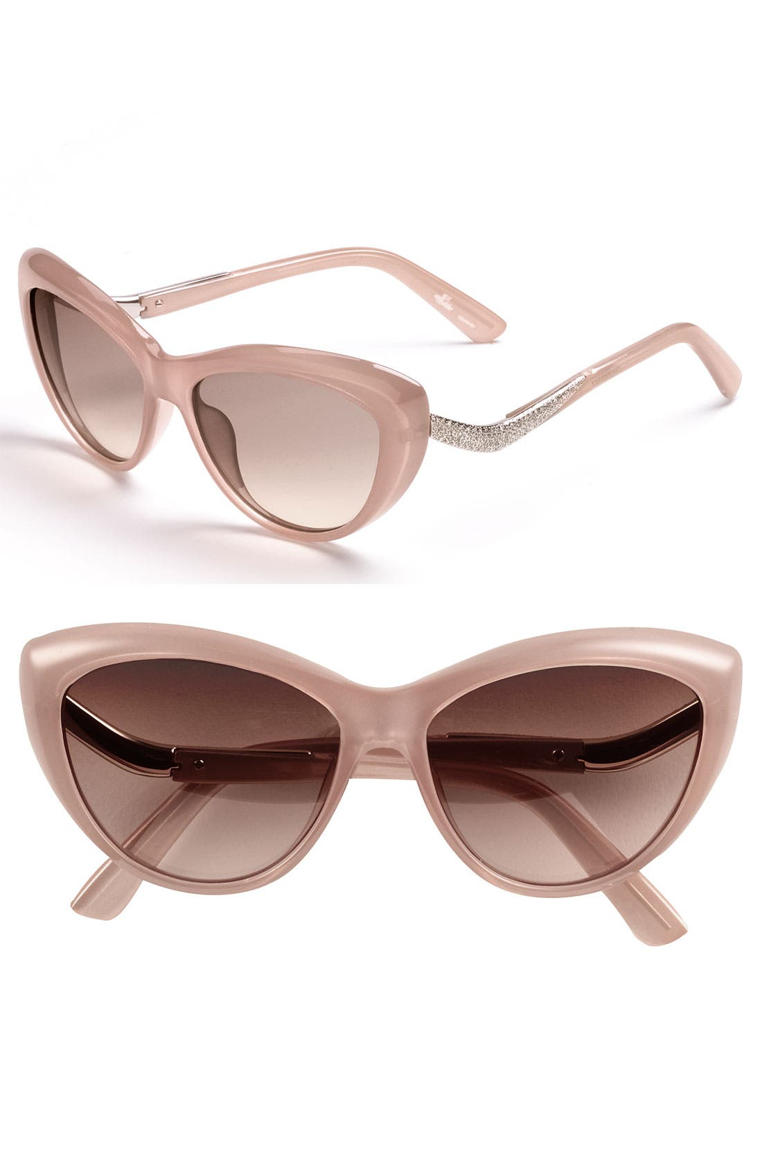 Alternate Image 1 Selected - Valentino 55mm Cat Eye Sunglasses