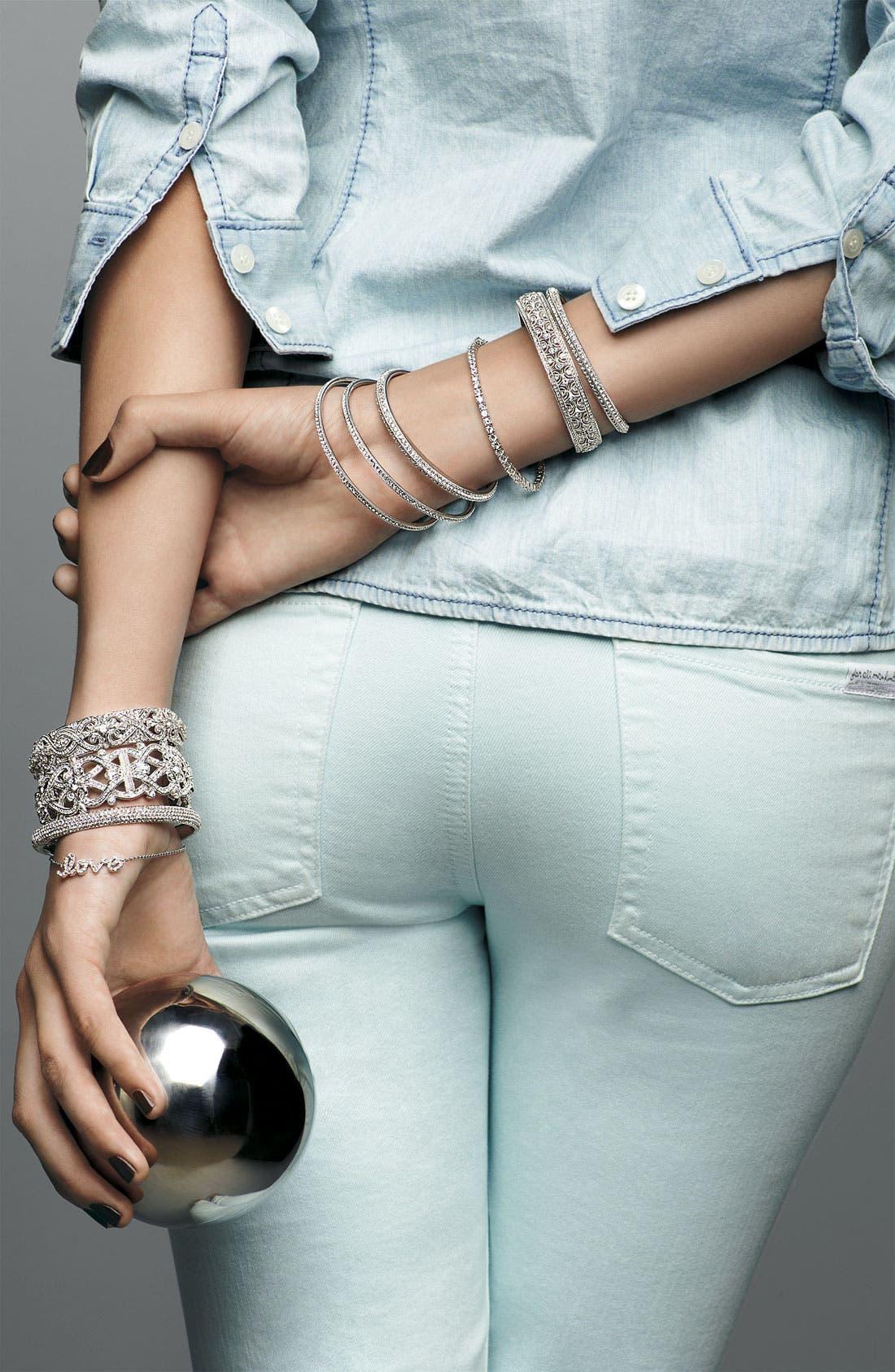 Alternate Image 2  - Ariella Collection 'Messages - Love' Script Station Bracelet