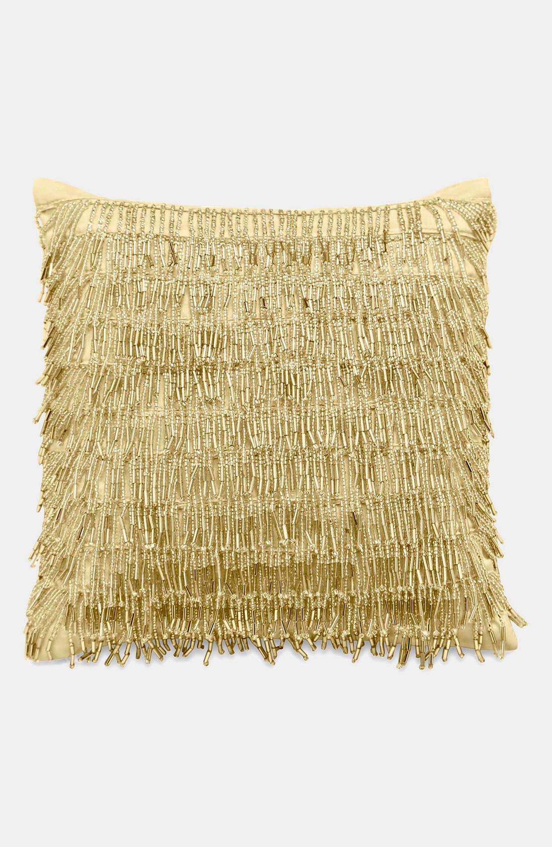 Alternate Image 1 Selected - Donna Karan 'Dancing Gold' Silk Pillow (Online Only)