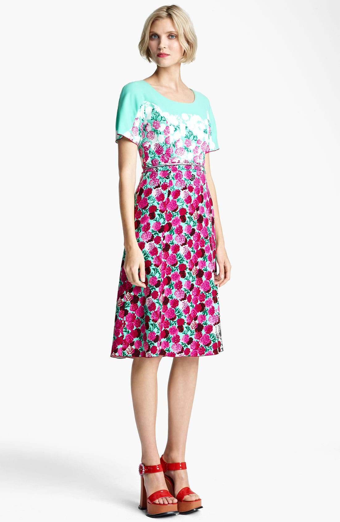 Alternate Image 1 Selected - MARC JACOBS Dégradé Floral Dress