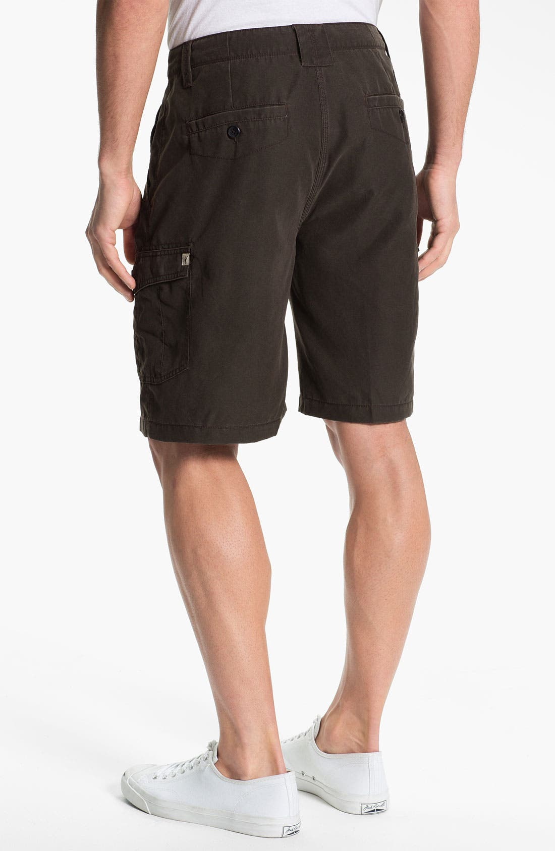 Alternate Image 2  - Toes on the Nose 'Journey' Flat Front Shorts