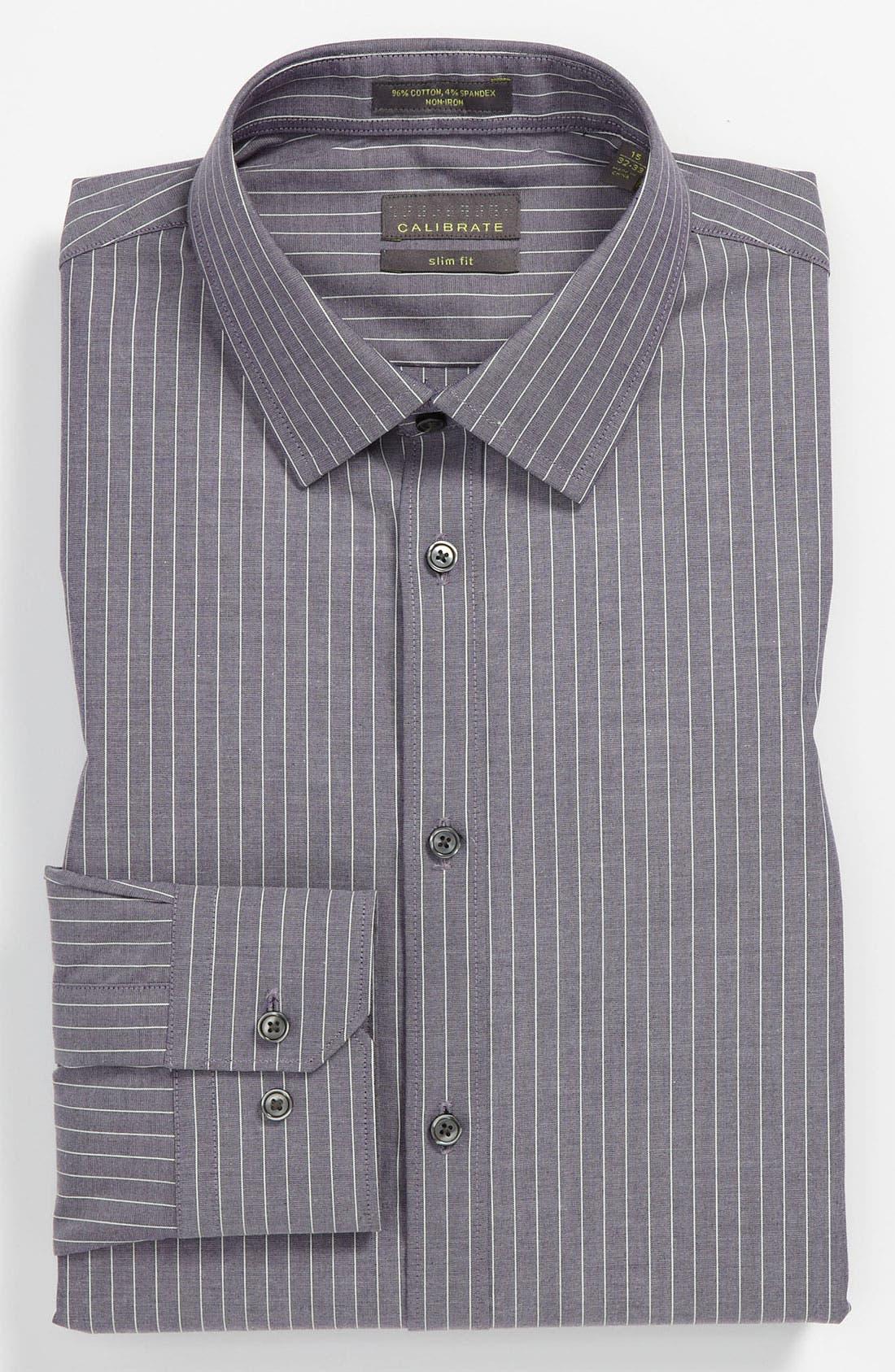 Main Image - Calibrate Slim Fit Non-Iron Dress Shirt