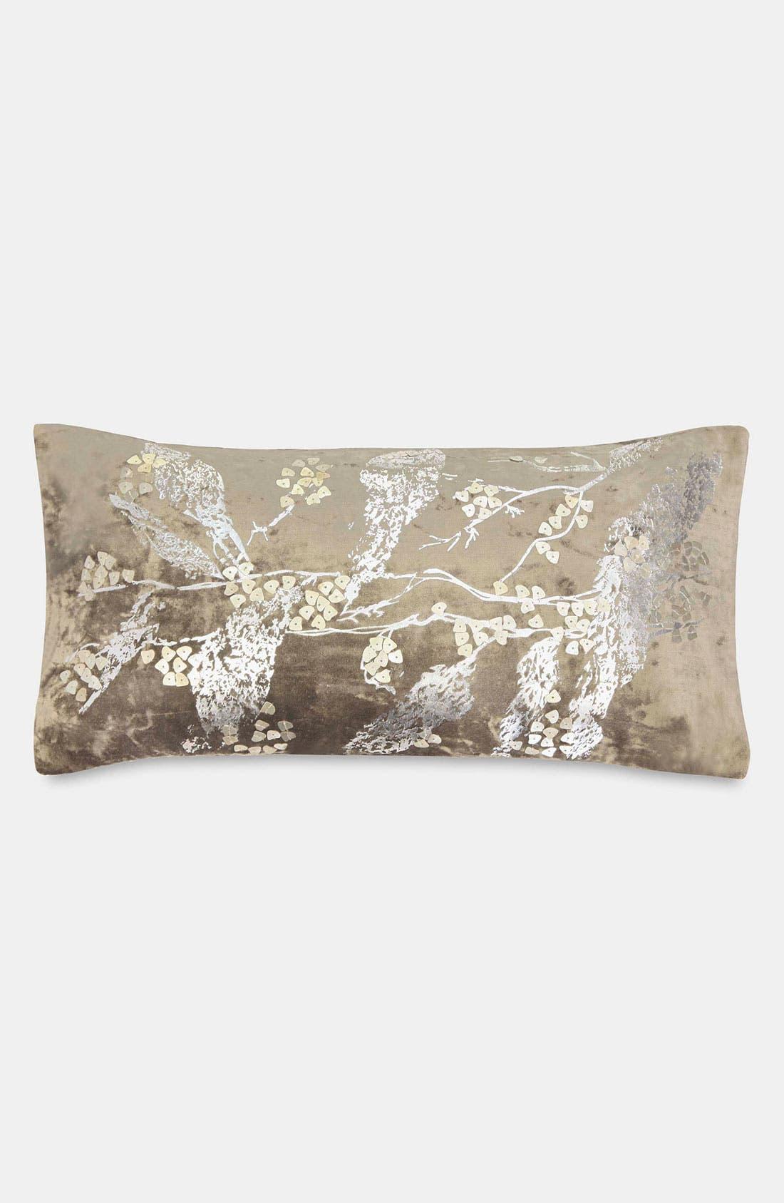 Main Image - Donna Karan 'Velvet Foil' Pillow (Online Only)
