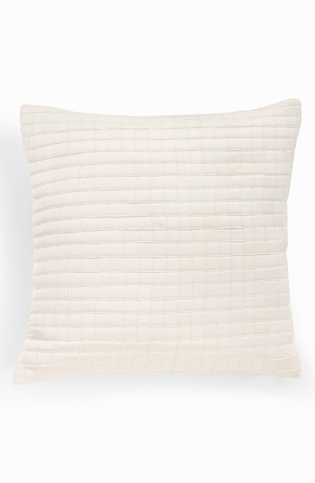 Alternate Image 1 Selected - Donna Karan Tufted Silk Pillow (Online Only)