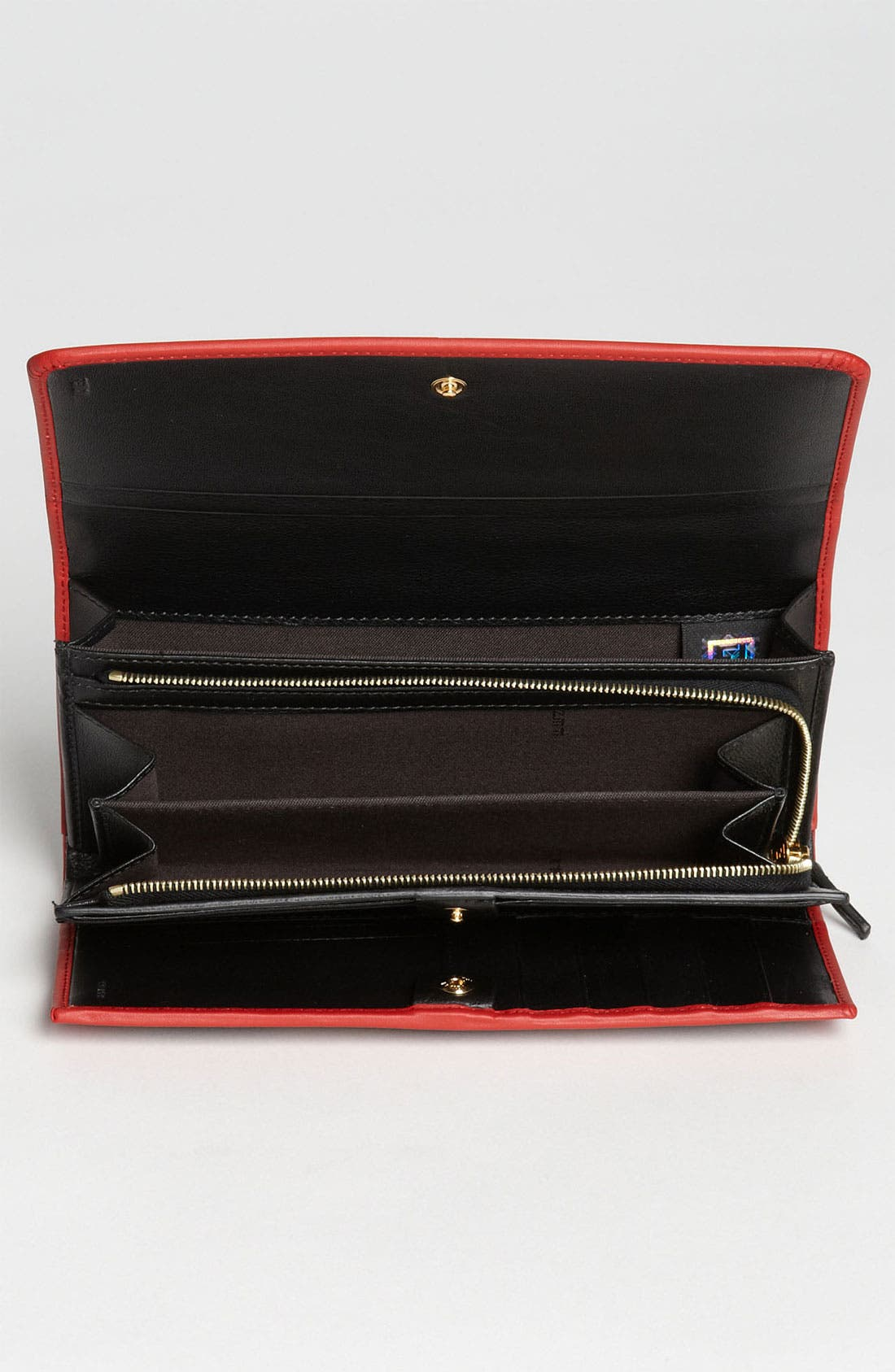 Alternate Image 3  - Fendi 'Pequin' Continental Wallet