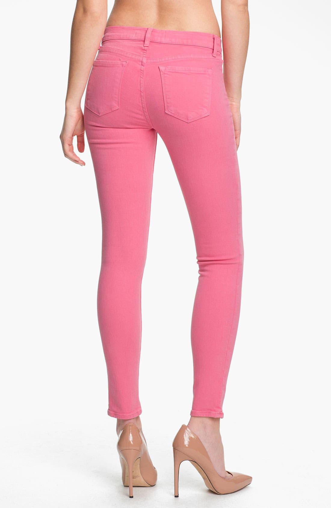 Alternate Image 2  - J Brand Overdyed Skinny Leg Jeans