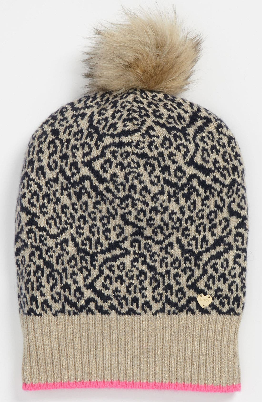 Alternate Image 1 Selected - Juicy Couture 'Snow Leopard' Hat (Girls)