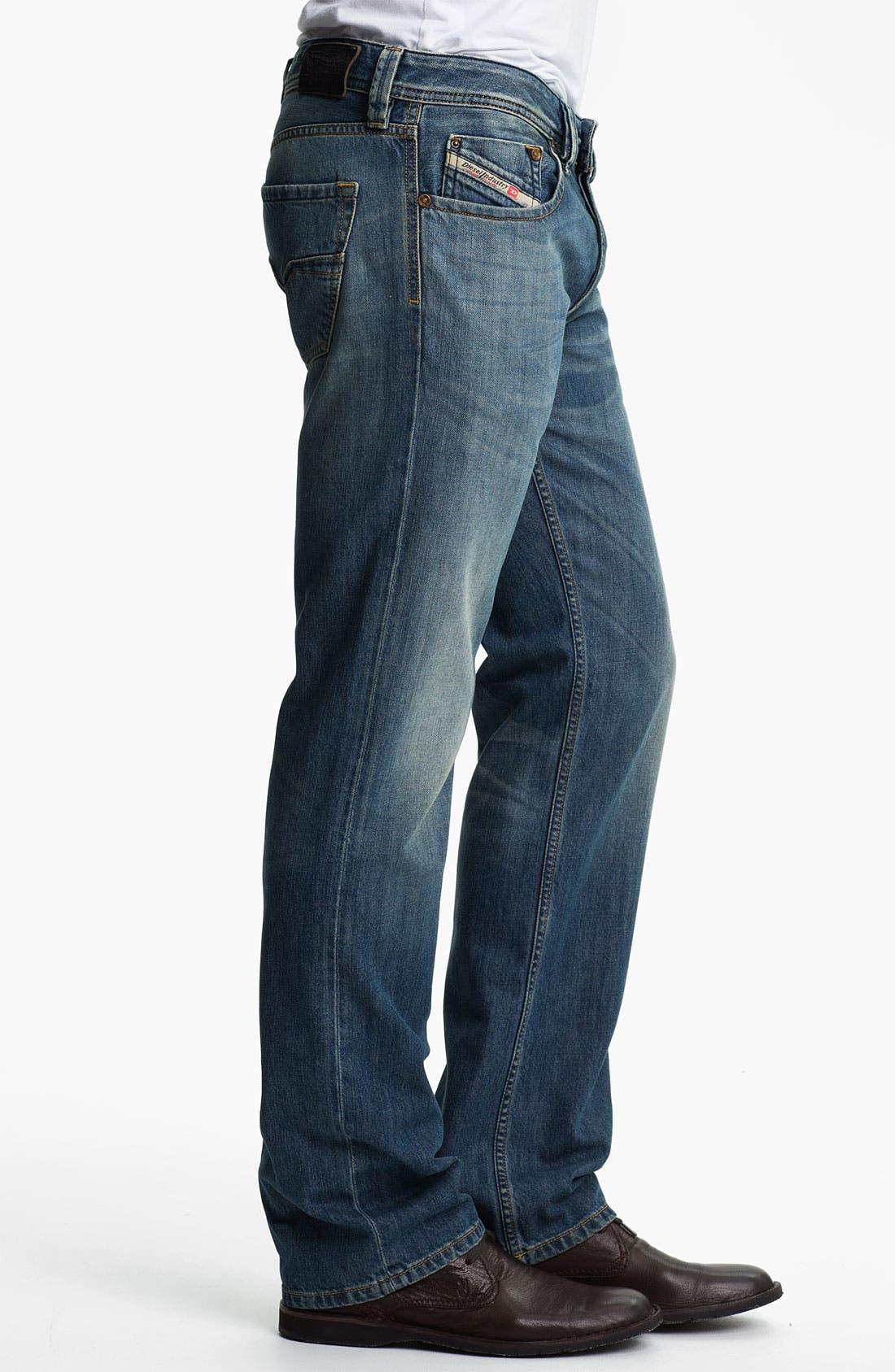 Alternate Image 3  - DIESEL® 'Larkee' Straight Leg Jeans (0806S)