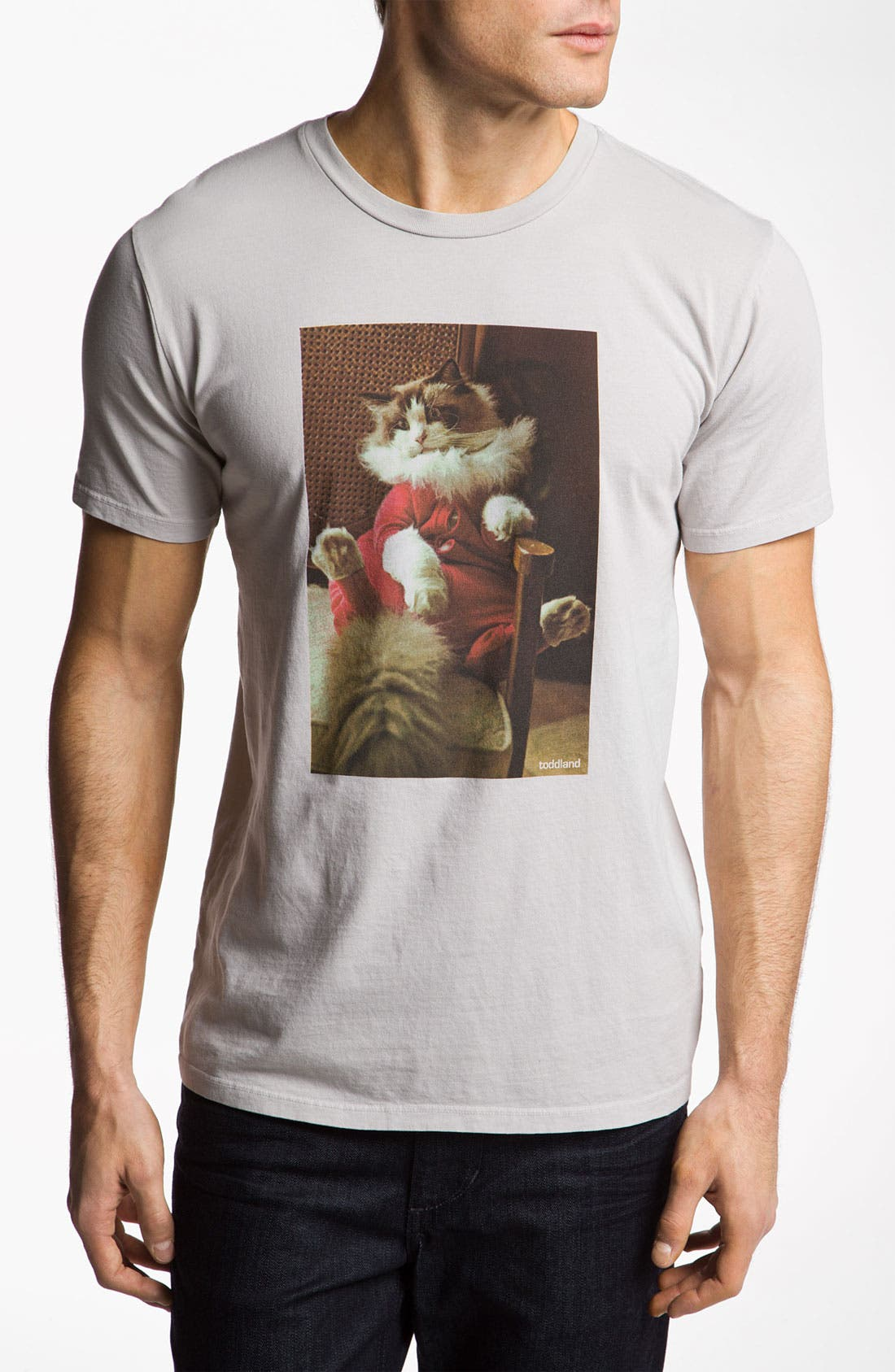Alternate Image 1 Selected - Toddland 'Dino's Union Suit' T-Shirt