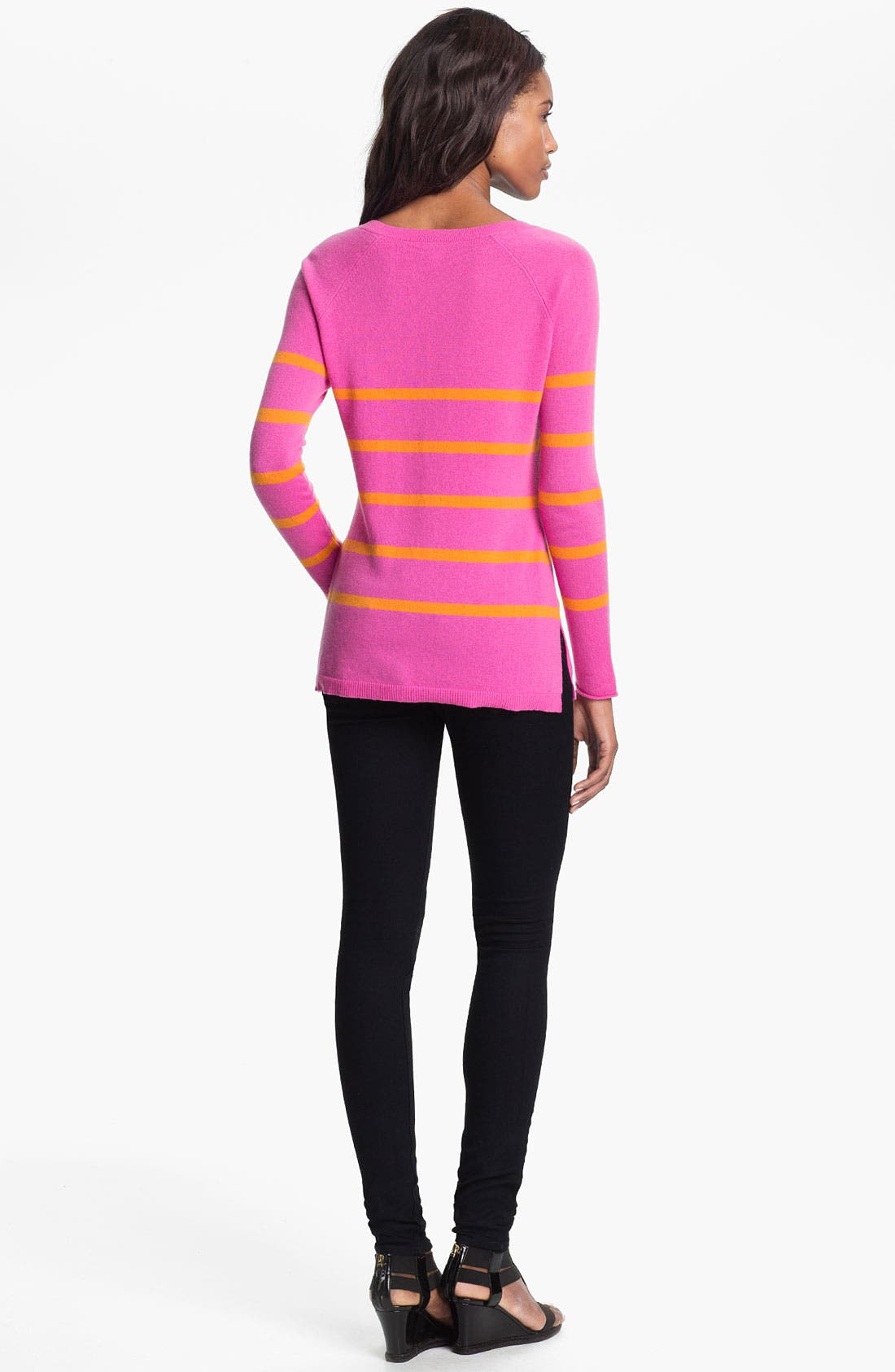 Alternate Image 2  - autumn cashmere Sailor Stripe Sweater