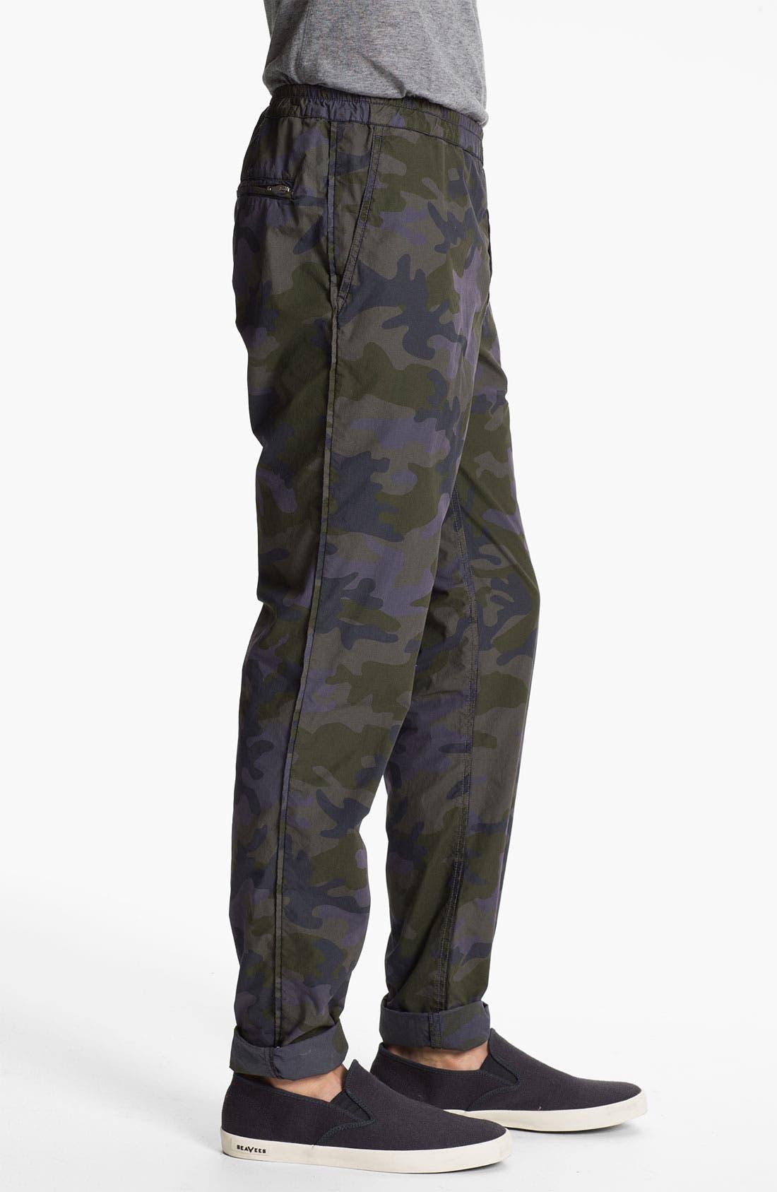 Alternate Image 3  - U Clothing 'Brody' Camo Tapered Leg Pants