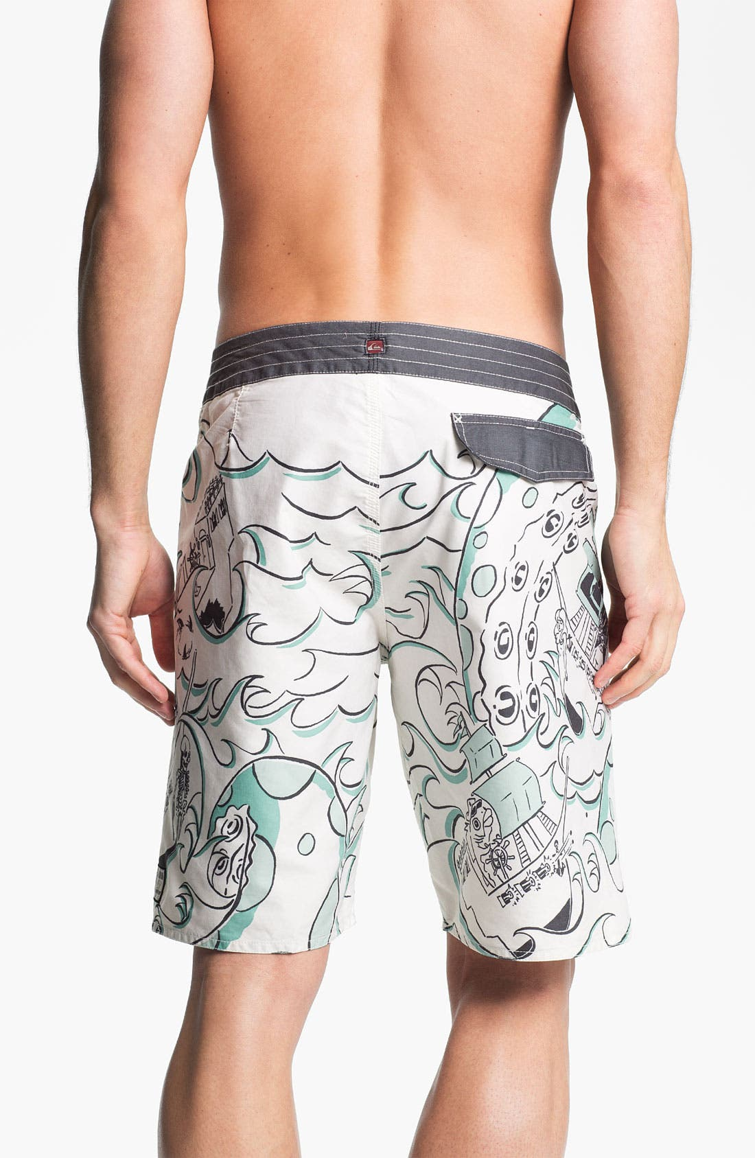 Alternate Image 2  - Quiksilver 'Willy's Gold' Board Shorts