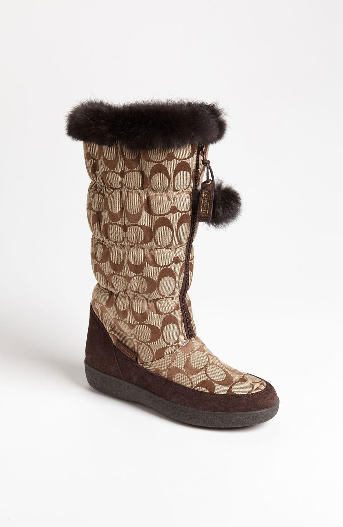 Main Image - COACH 'Theona' Snow Boot