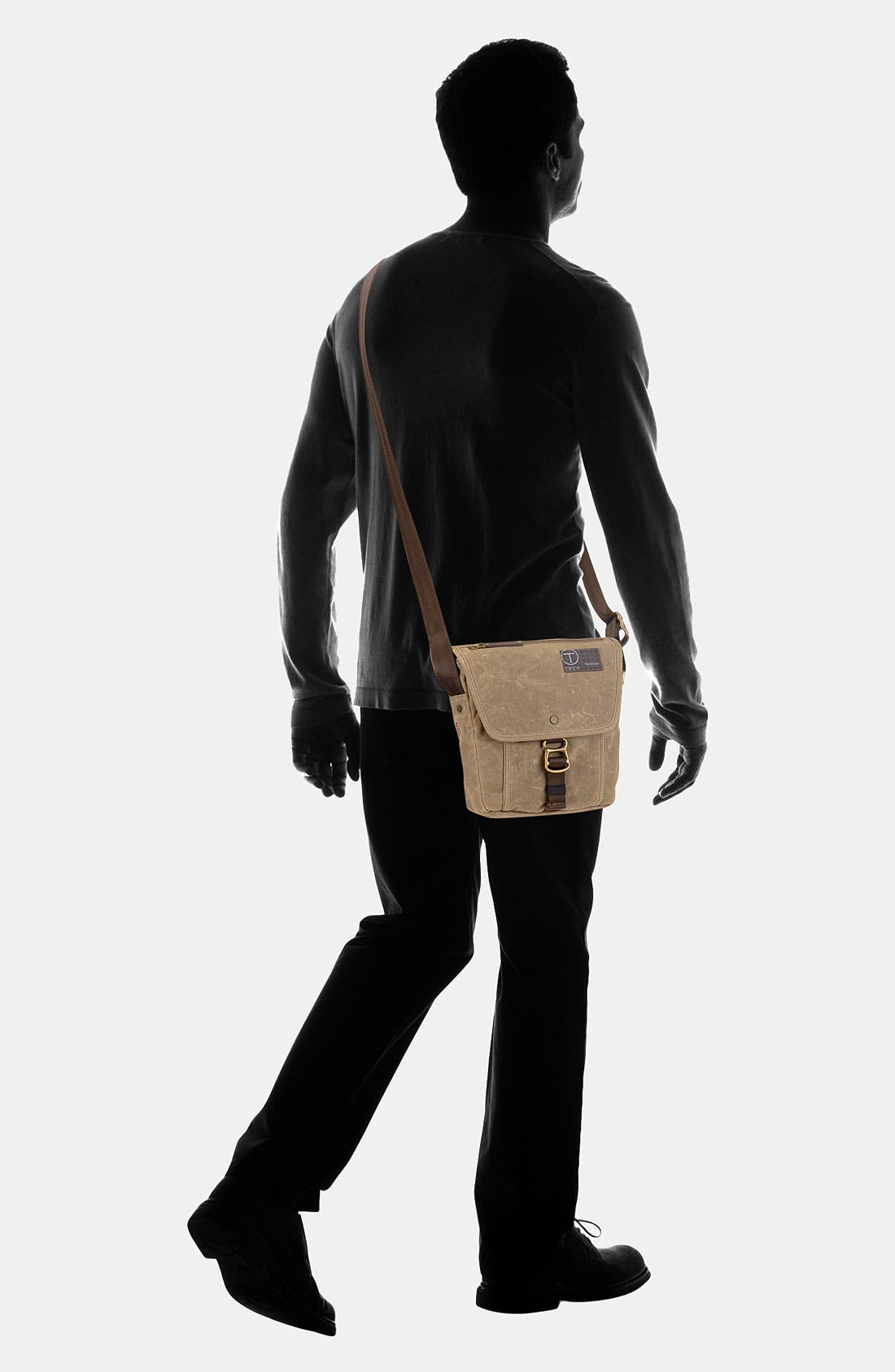 Alternate Image 4  - Tumi 'T-Tech Icon - Lewis Small' Flap Crossbody Bag