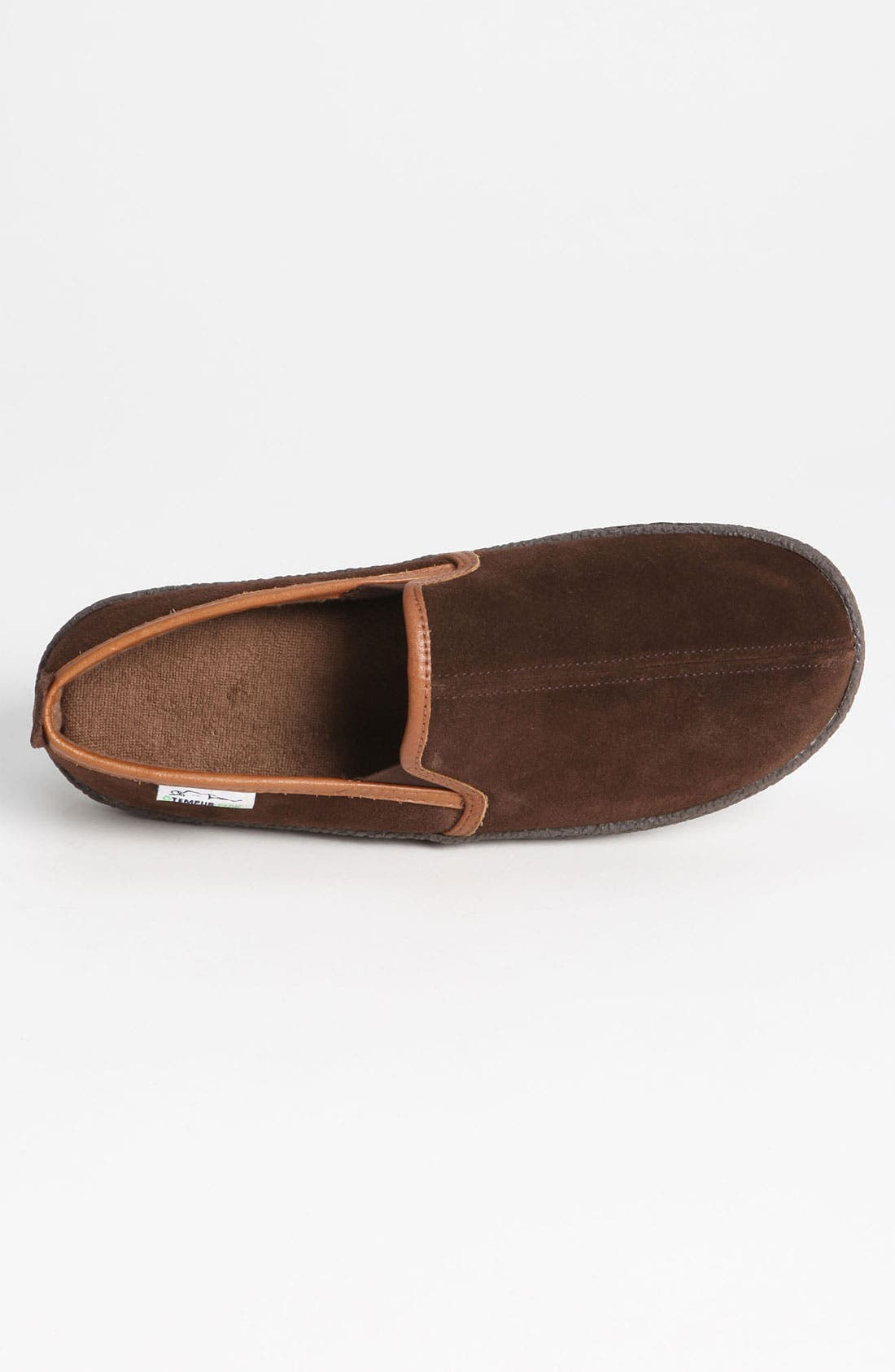 Alternate Image 3  - Tempur-Pedic® Suede Slipper
