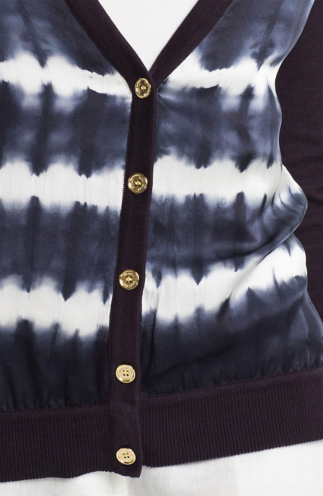 Alternate Image 3  - MICHAEL Michael Kors Tie Dye Front Cardigan
