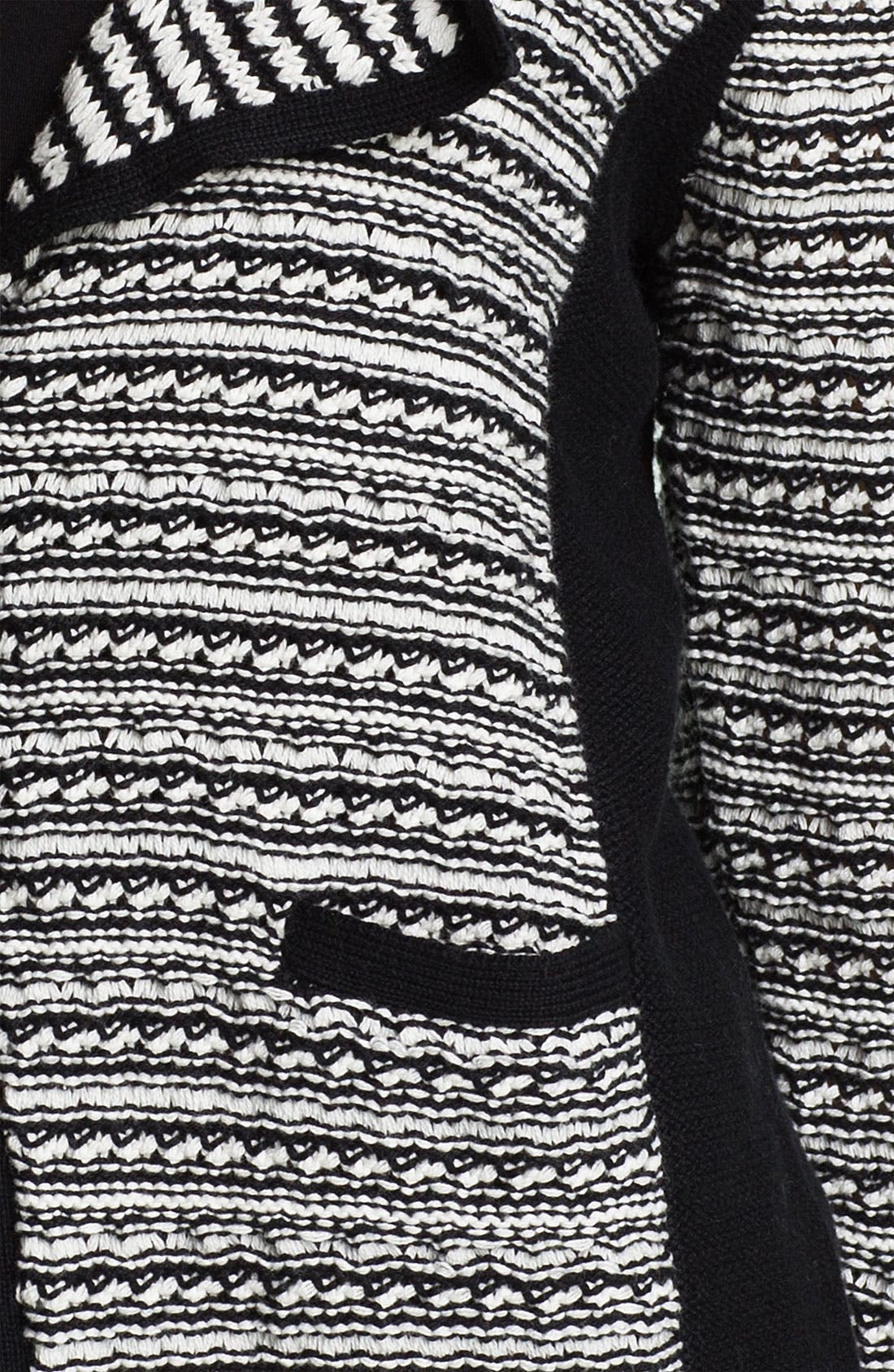 Alternate Image 3  - Fever Snap Front Sweater Jacket