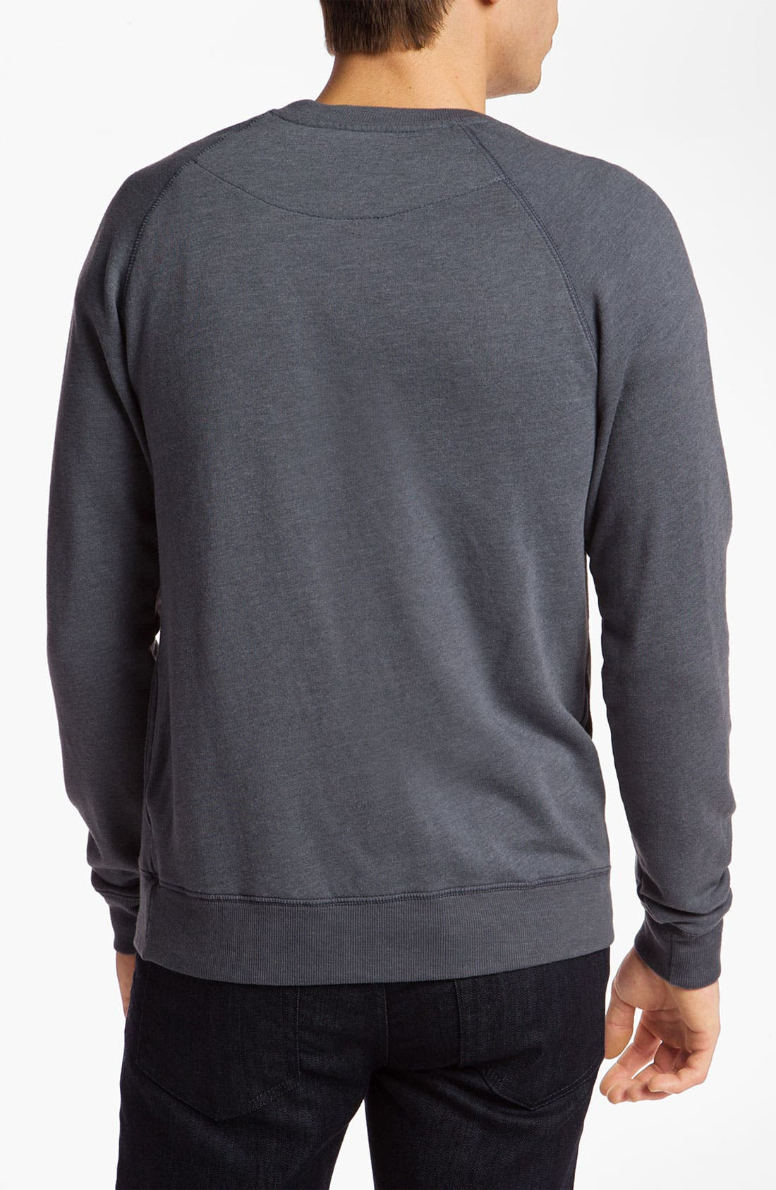 Alternate Image 2  - Topo Ranch 'Check' Crewneck Sweatshirt