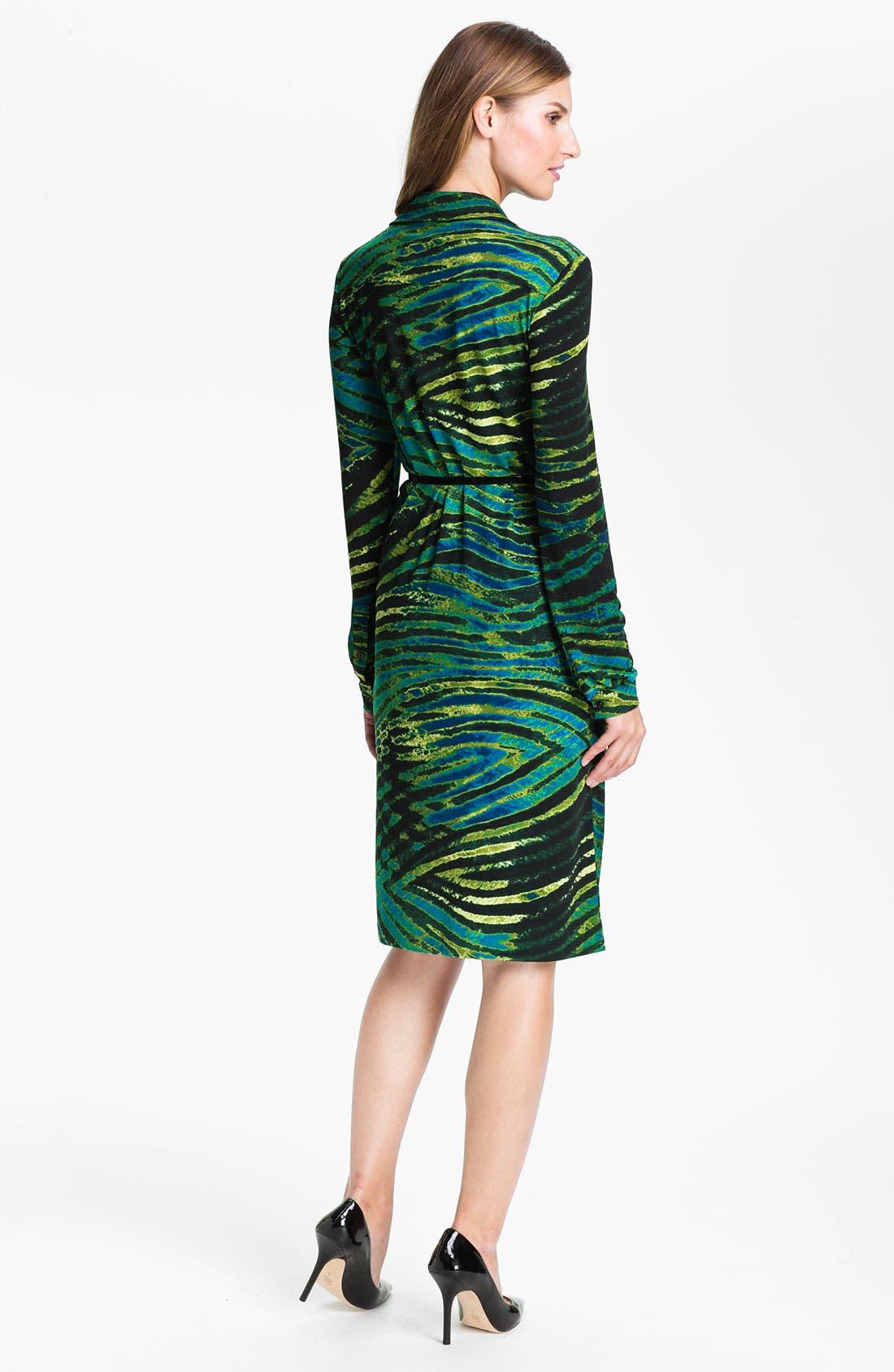 Alternate Image 2  - Anne Klein Print Shirtdress (Online Exclusive)