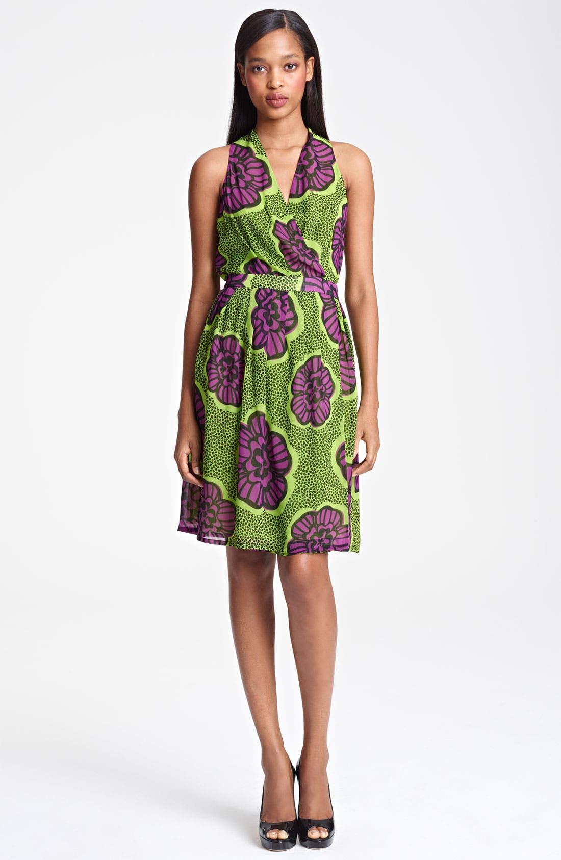 Main Image - Moschino Cheap & Chic Print Chiffon Dress
