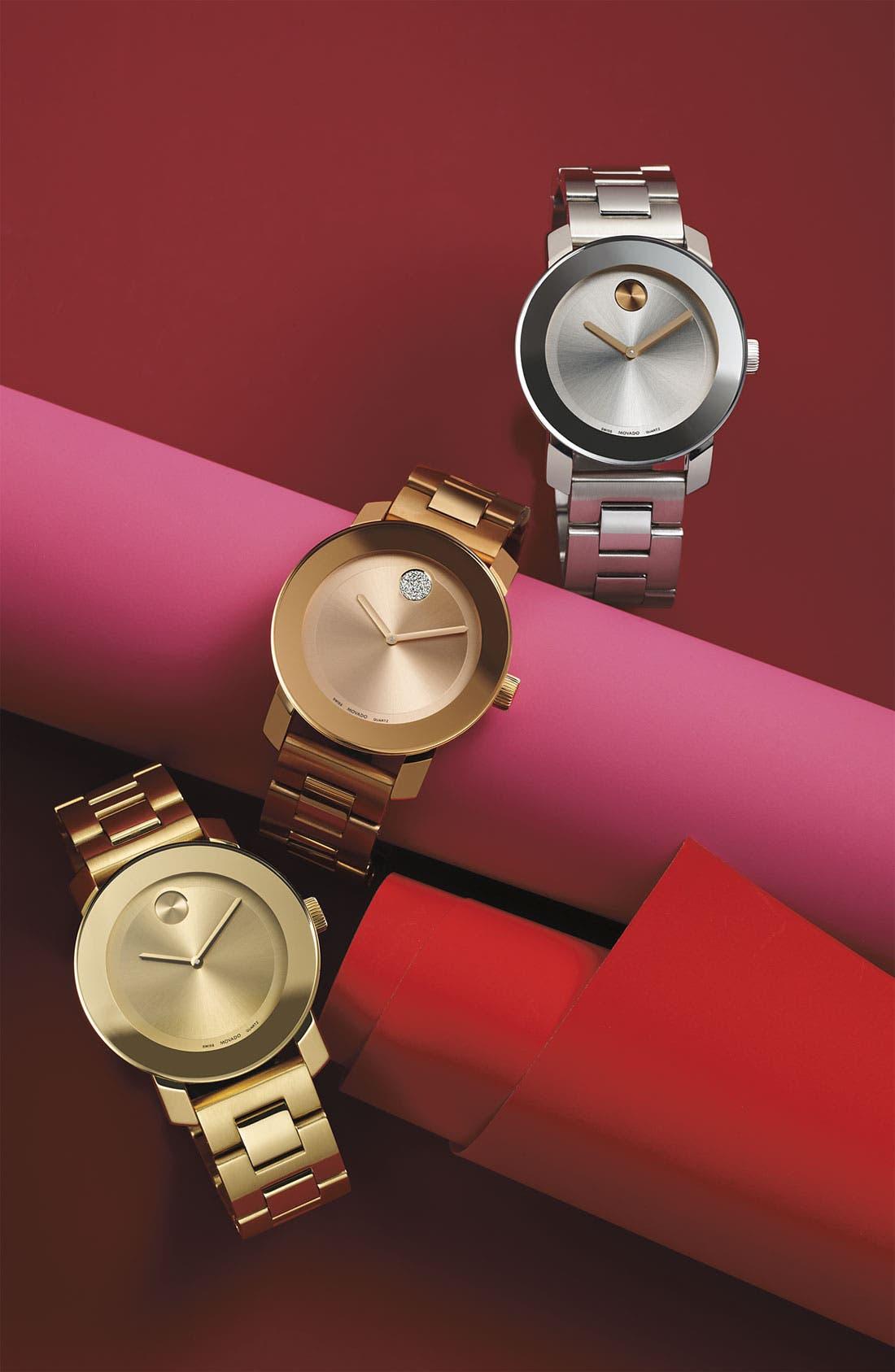 Alternate Image 5  - Movado 'Bold' Round Bracelet Watch, 36mm