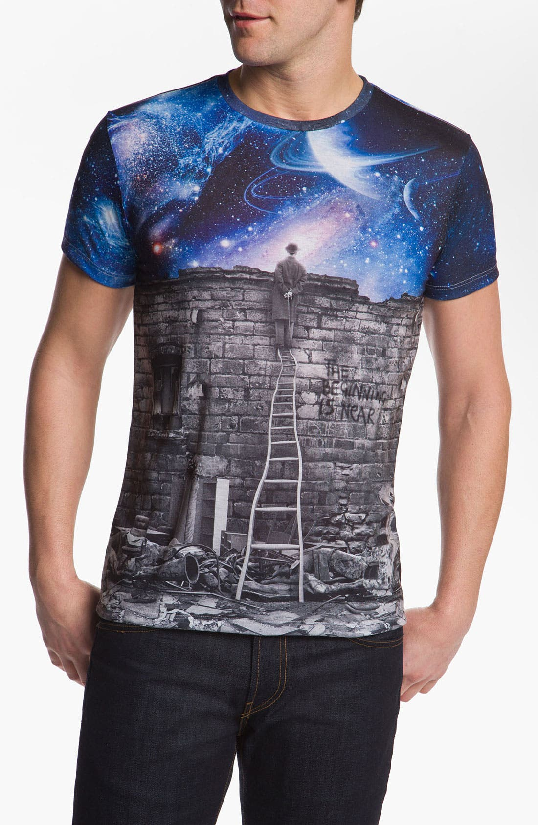Alternate Image 1 Selected - Imaginary Foundation 'Sublimation - Beginning' T-Shirt