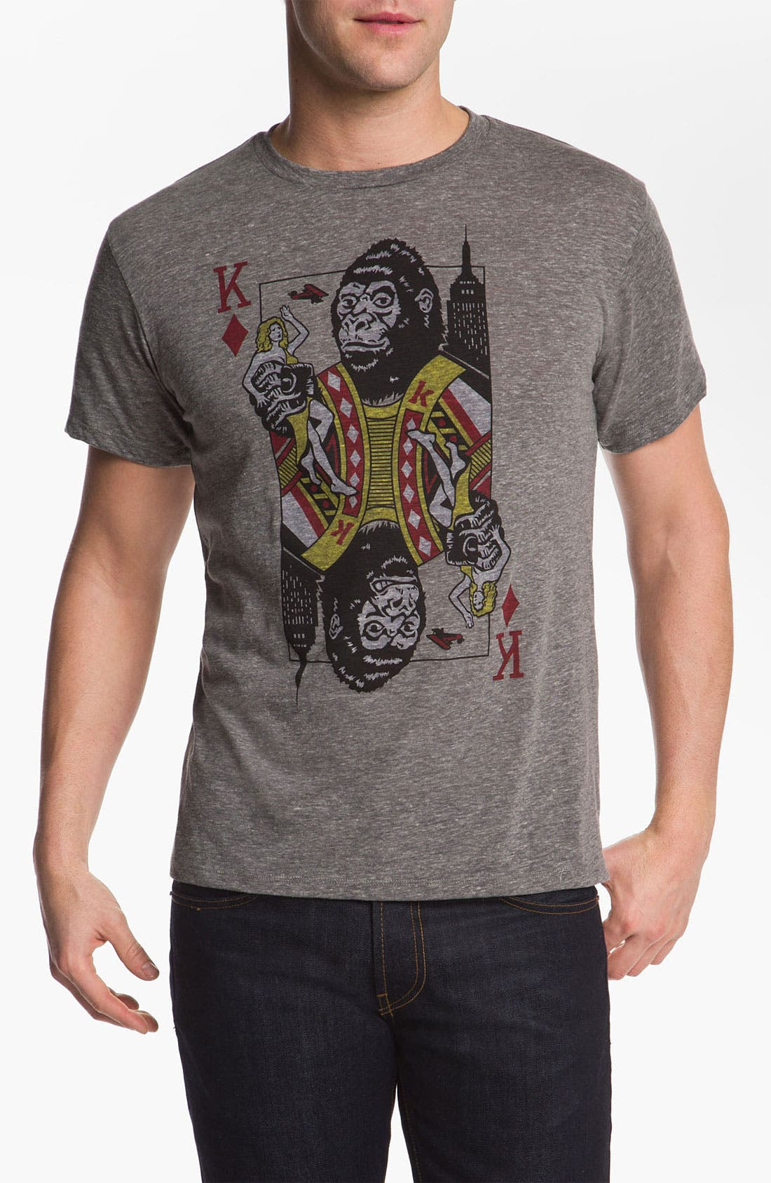 Alternate Image 1 Selected - Headline Shirts 'King' Graphic T-Shirt