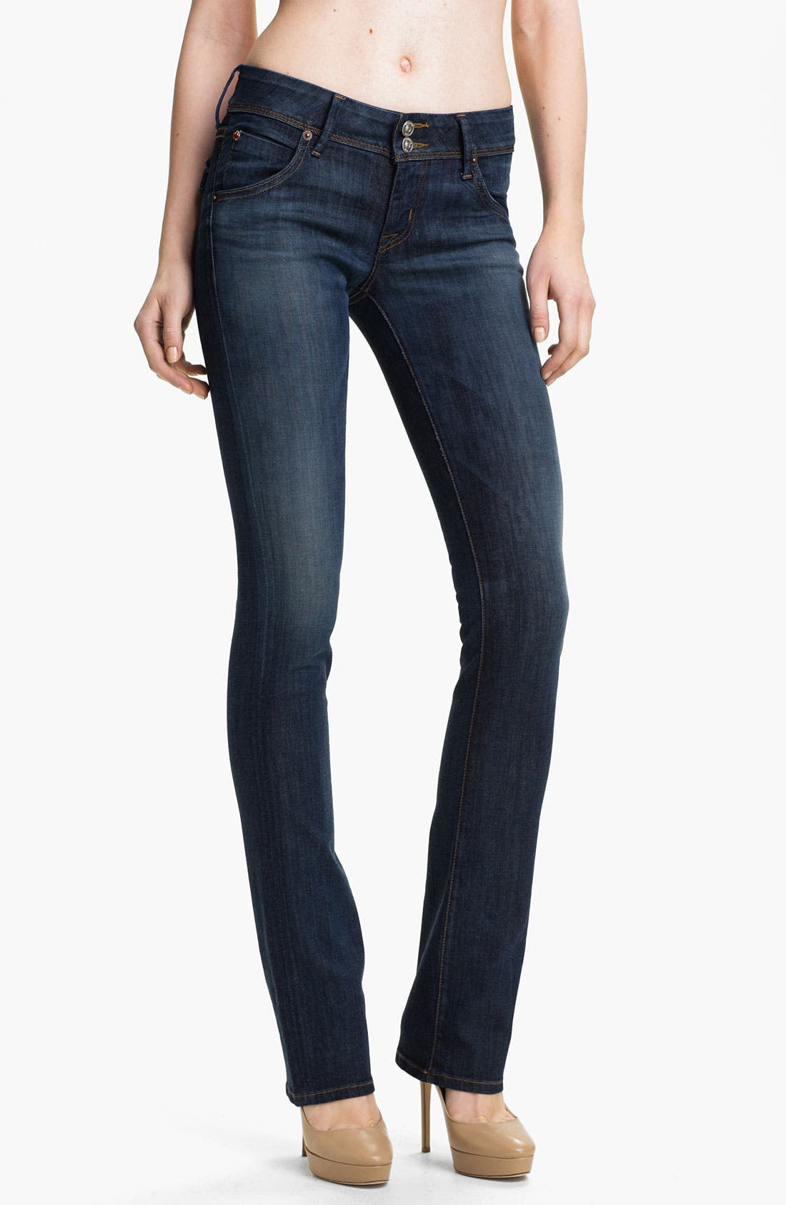 Alternate Image 1 Selected - Hudson Jeans 'Beth' Baby Bootcut Jeans (Adam)