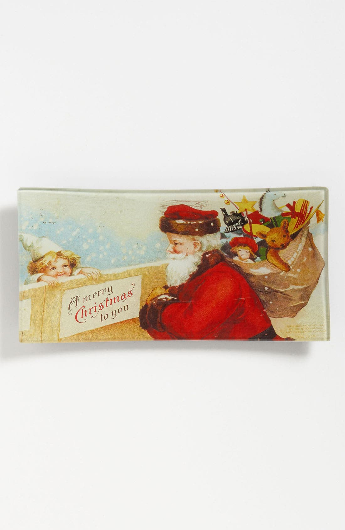 Alternate Image 1 Selected - Ben's Garden 'A Merry Christmas' Trinket Tray
