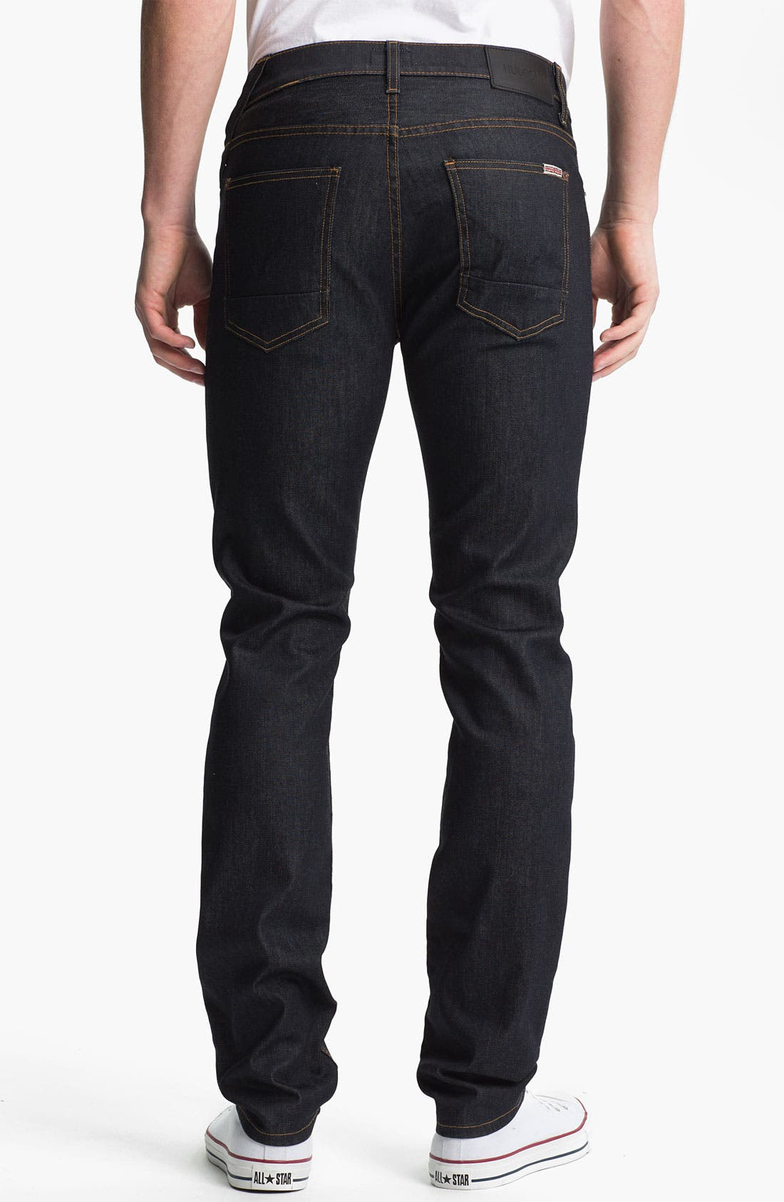 Alternate Image 2  - Hudson Jeans 'Sartor' Skinny Fit Jeans (Edges)