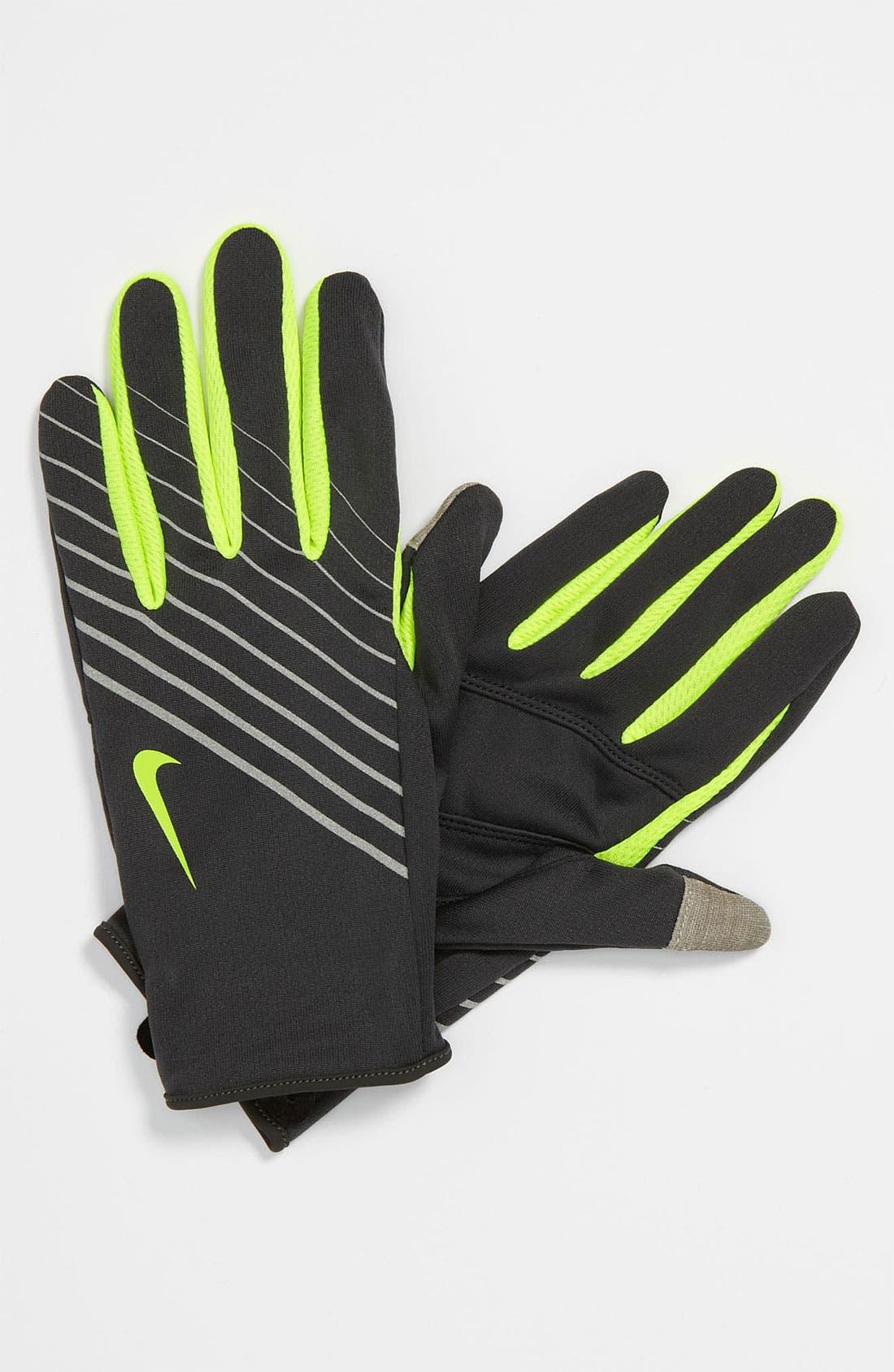 Alternate Image 1 Selected - Nike 'Tech' Lightweight Running Gloves