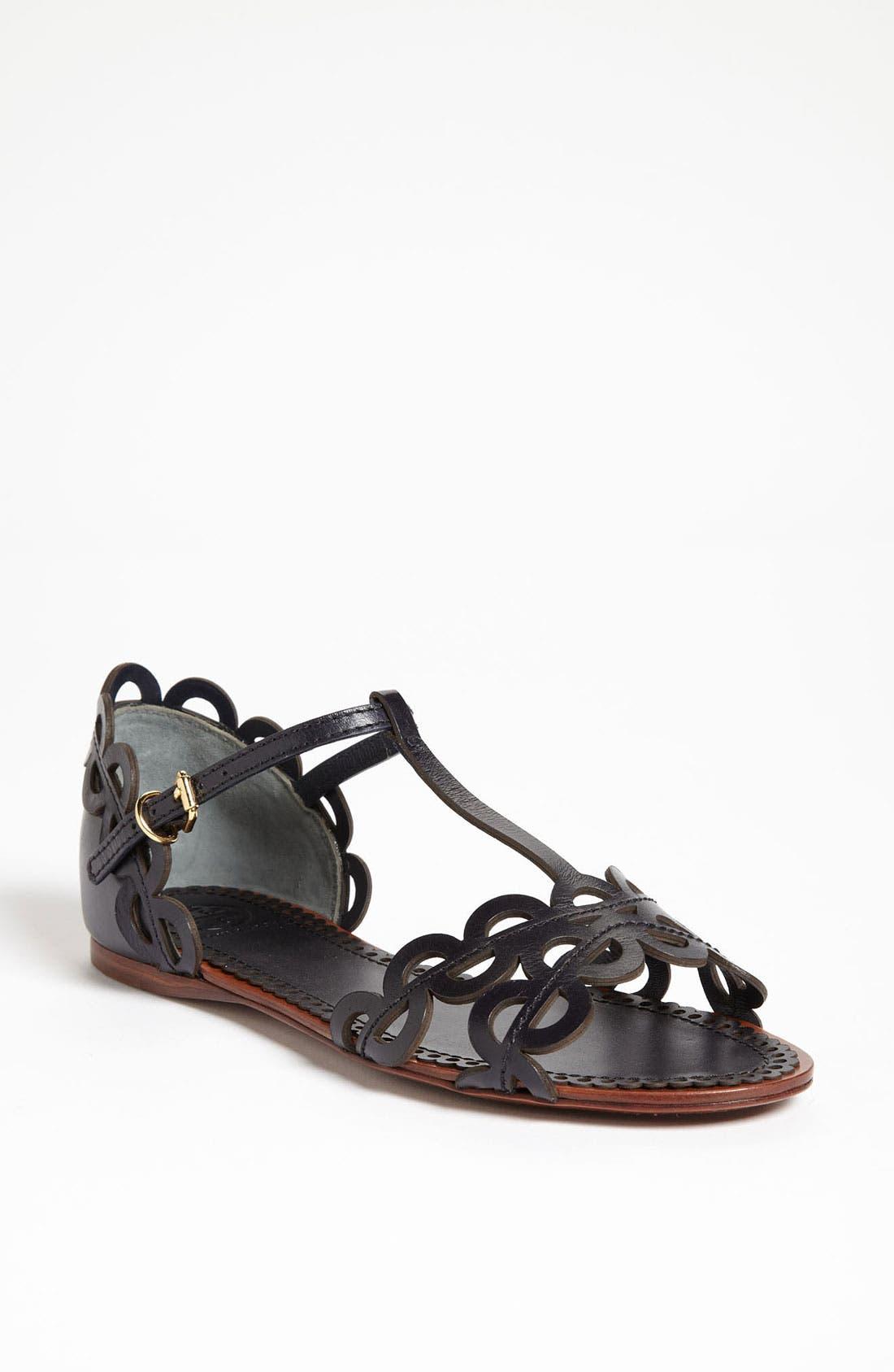 Main Image - Tory Burch 'Aileen' Flat Sandal