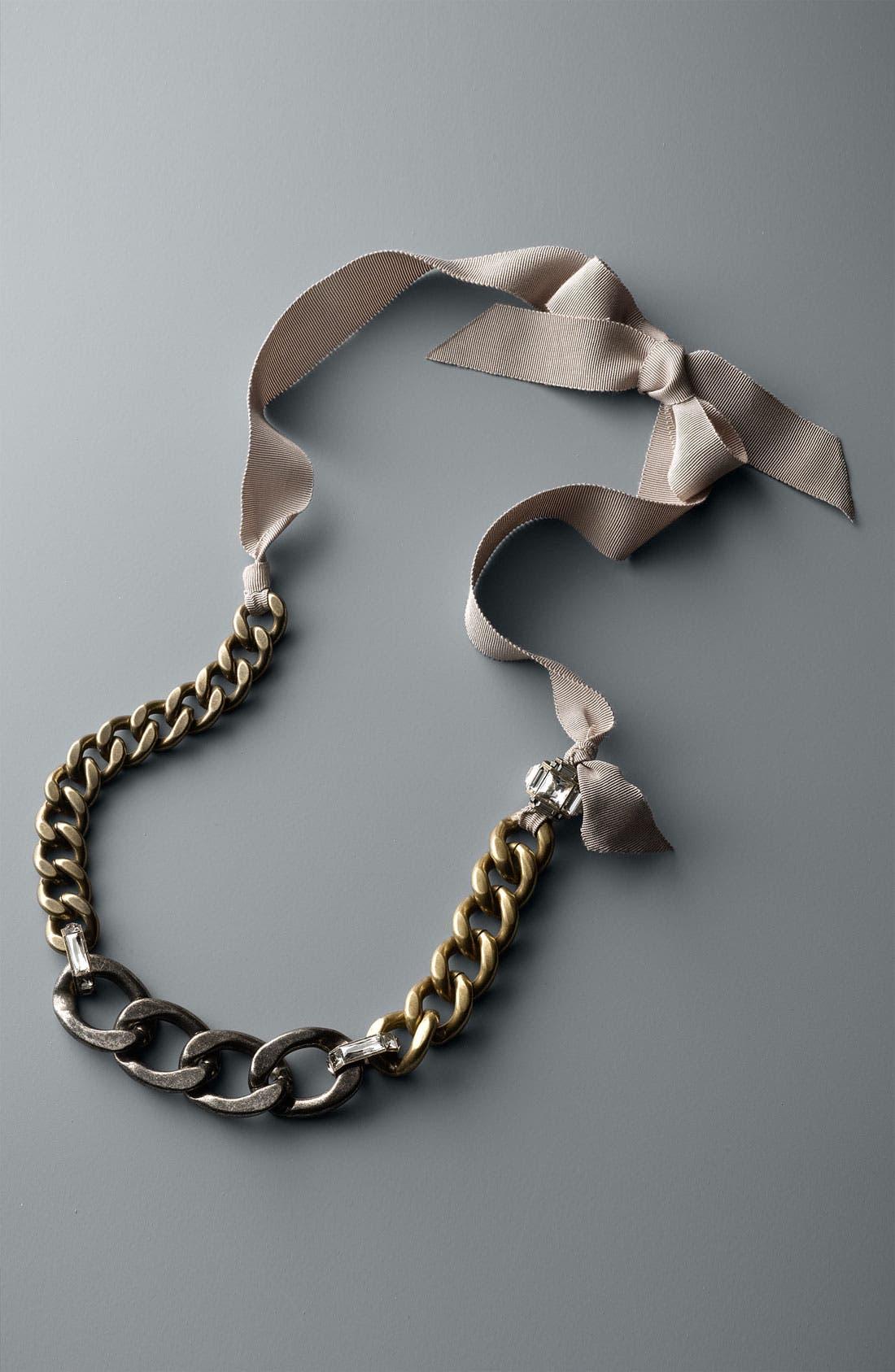 Alternate Image 2  - Lanvin Chain Link Necklace Belt