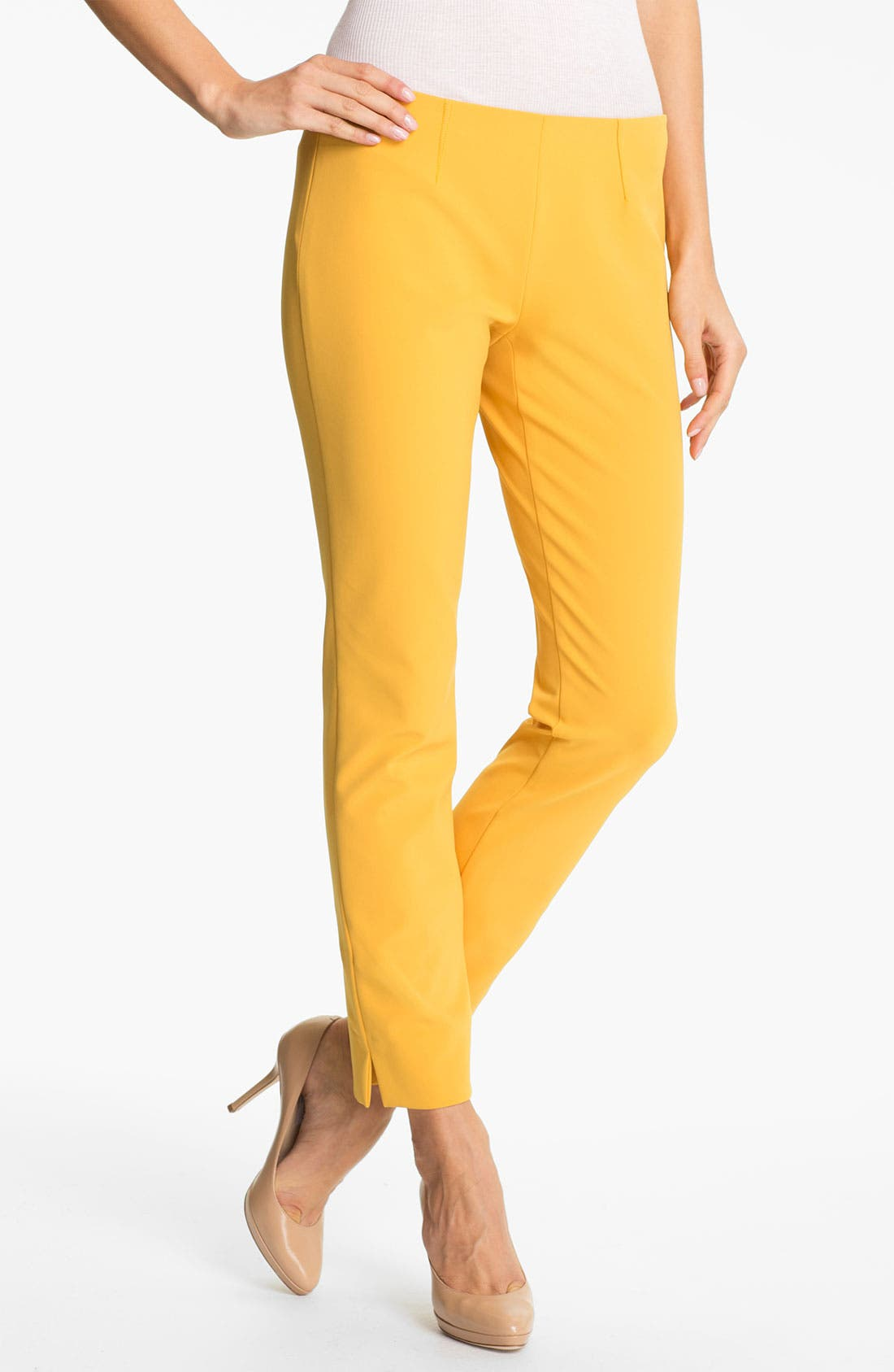Alternate Image 1 Selected - Theory 'Belisa' Slim Leg Stretch Pants
