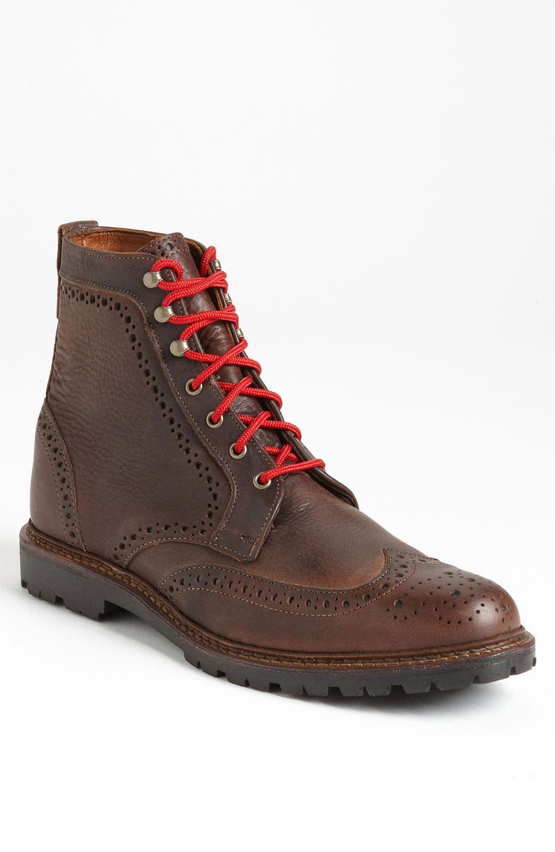 Main Image - Allen Edmonds 'Long Branch' Wingtip Boot (Men) (Online Only)