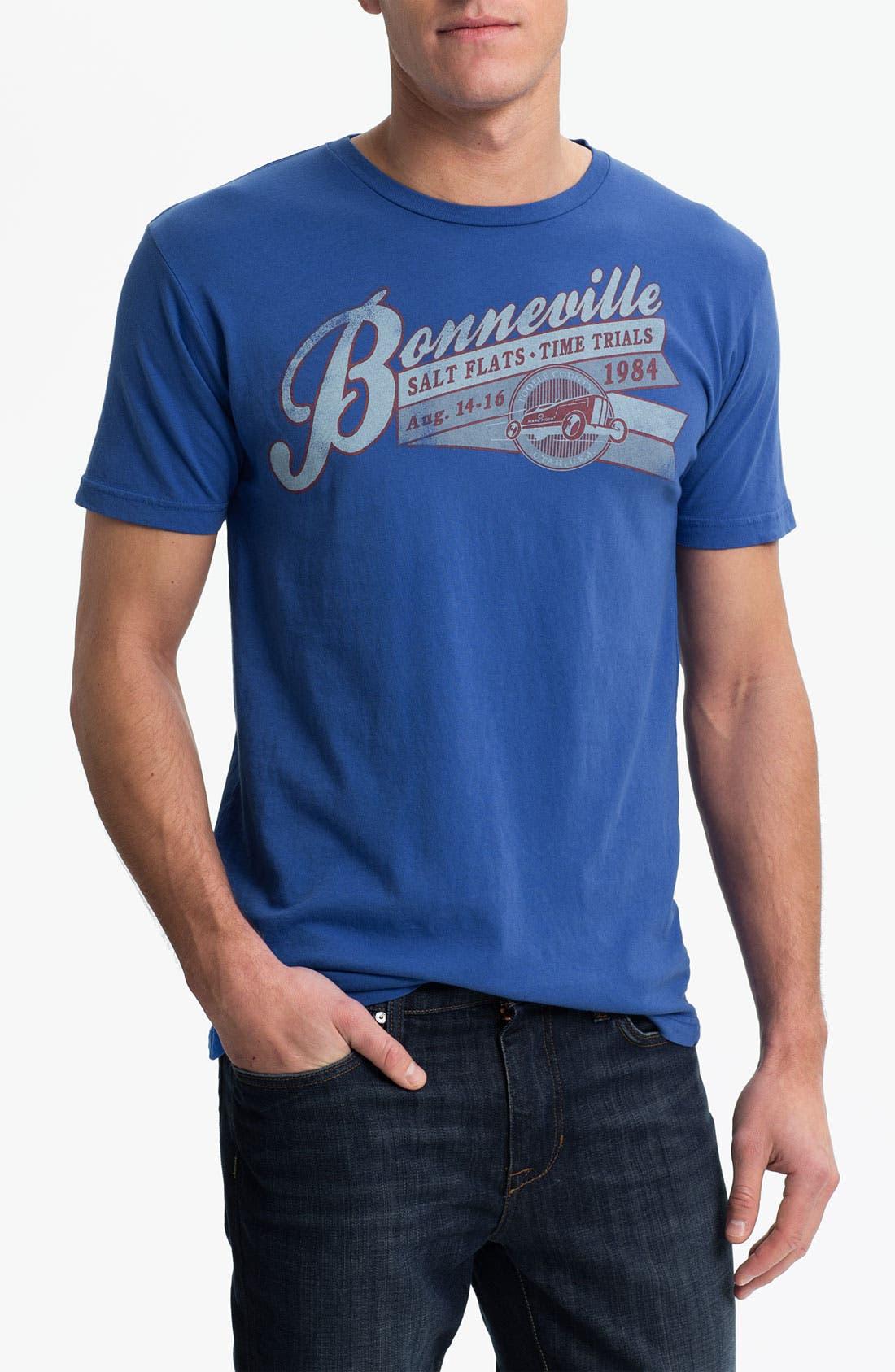 Main Image - Denim & Leathers by Andrew Marc 'Bonneville Salt Flats' Graphic T-Shirt