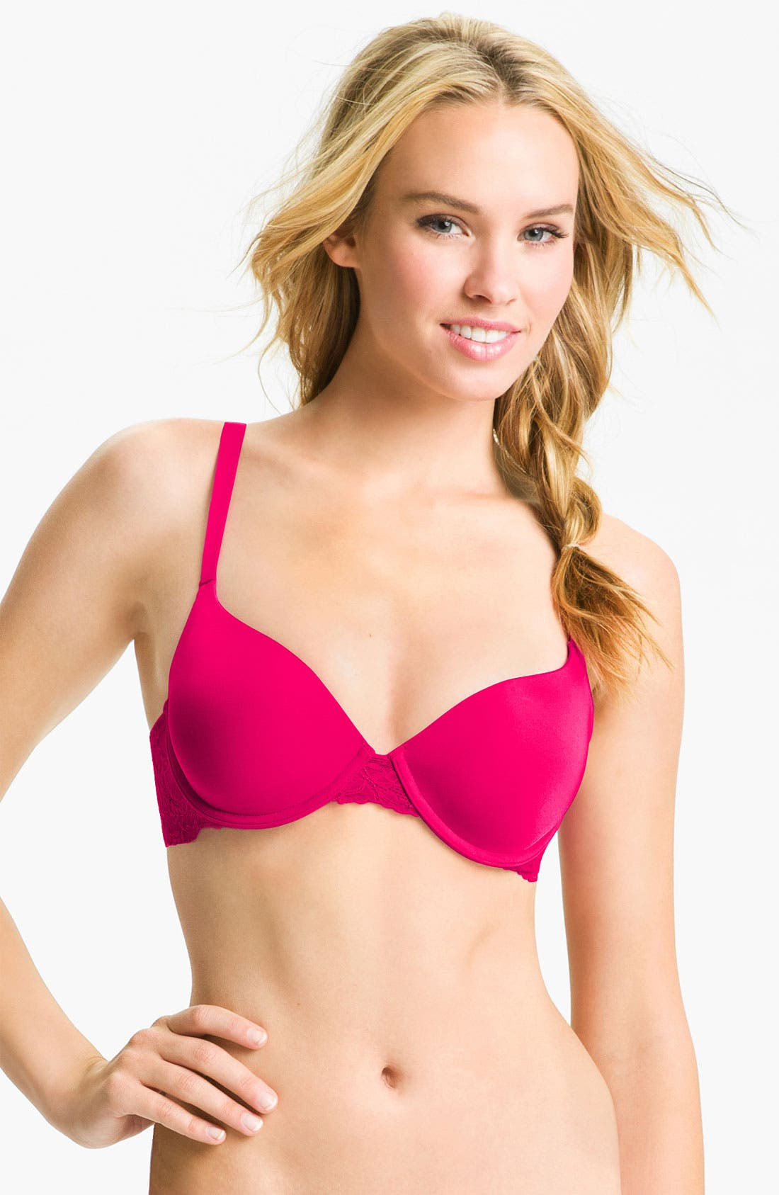 Alternate Image 1 Selected - Calvin Klein 'Customized Lift - F3274' Contour Underwire Bra