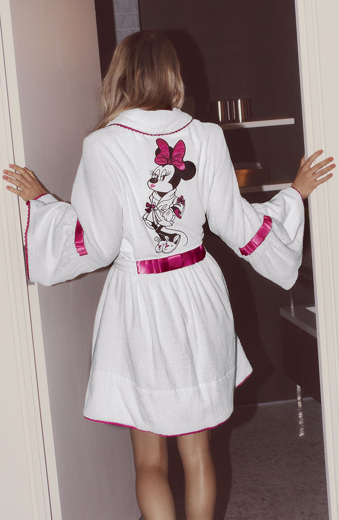 Alternate Image 4  - Betsey Johnson 'Minnie' Terry Robe