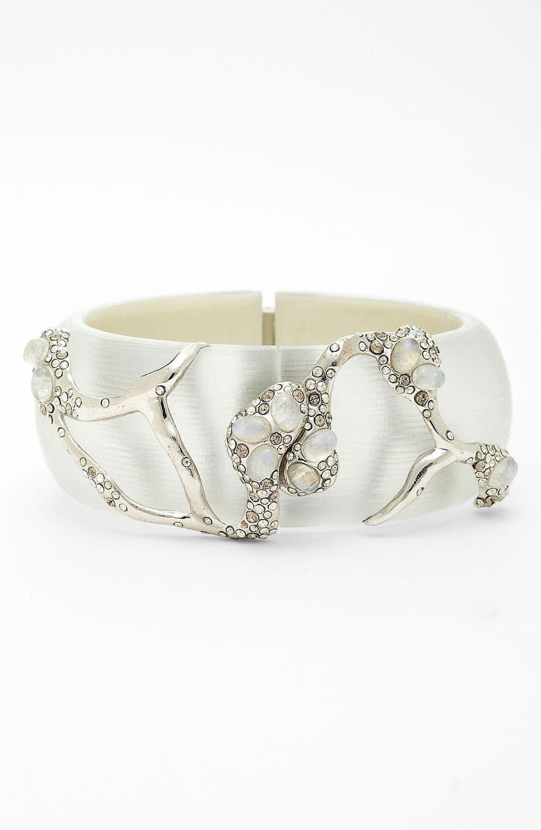 Alternate Image 1 Selected - Alexis Bittar 'Modernist - Embraced' Hinged Bracelet (Nordstrom Exclusive)