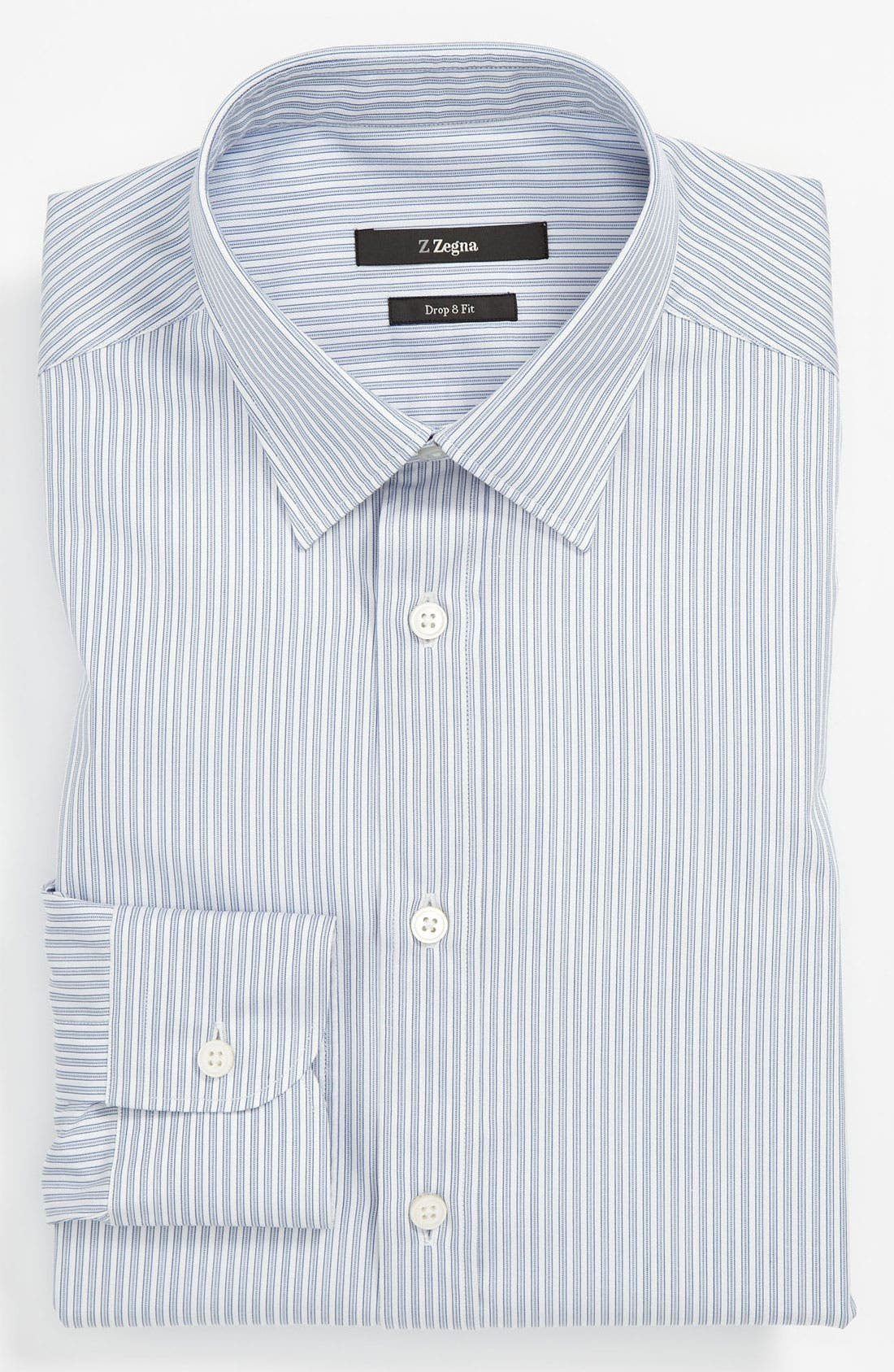 Alternate Image 1 Selected - Z Zegna Trim Fit Dress Shirt