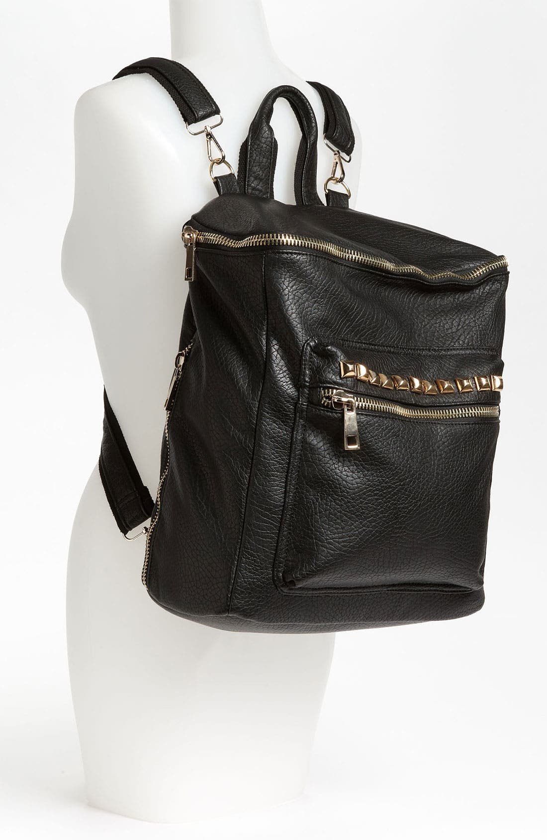 Alternate Image 2  - BP. Studded Faux Leather Backpack