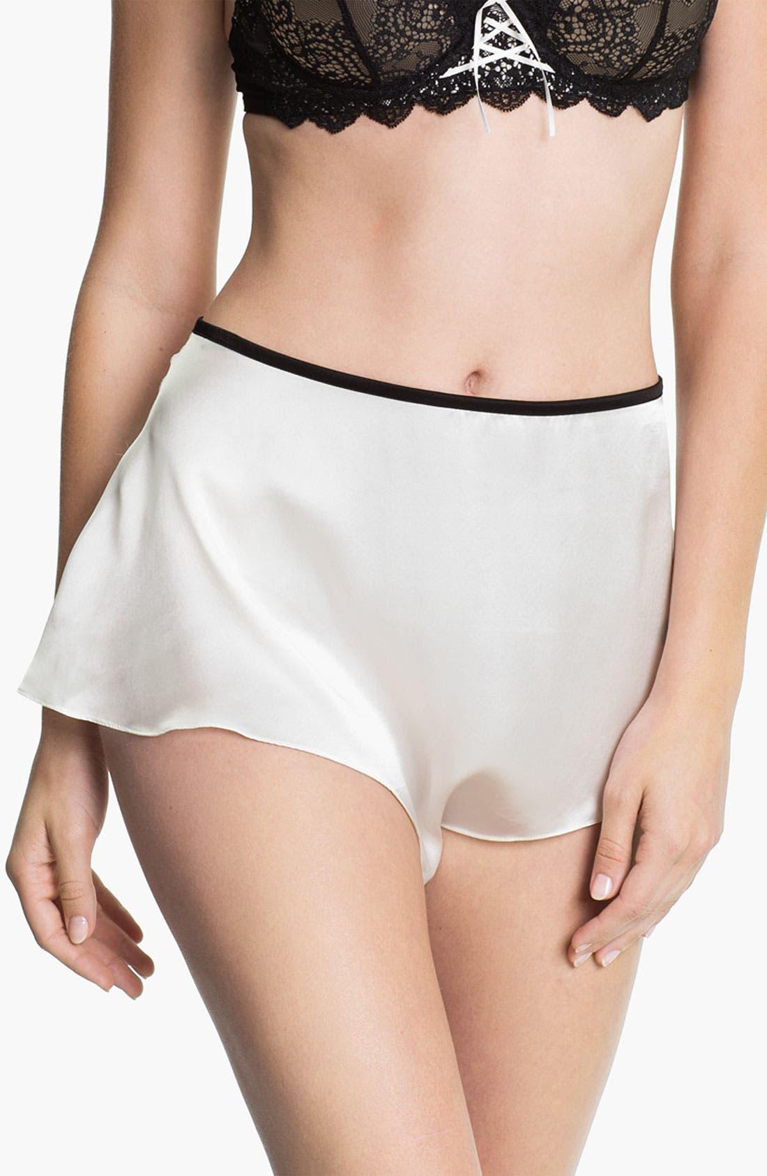 Alternate Image 1 Selected - Mimi Holliday 'Luna Belle' Satin Shorts