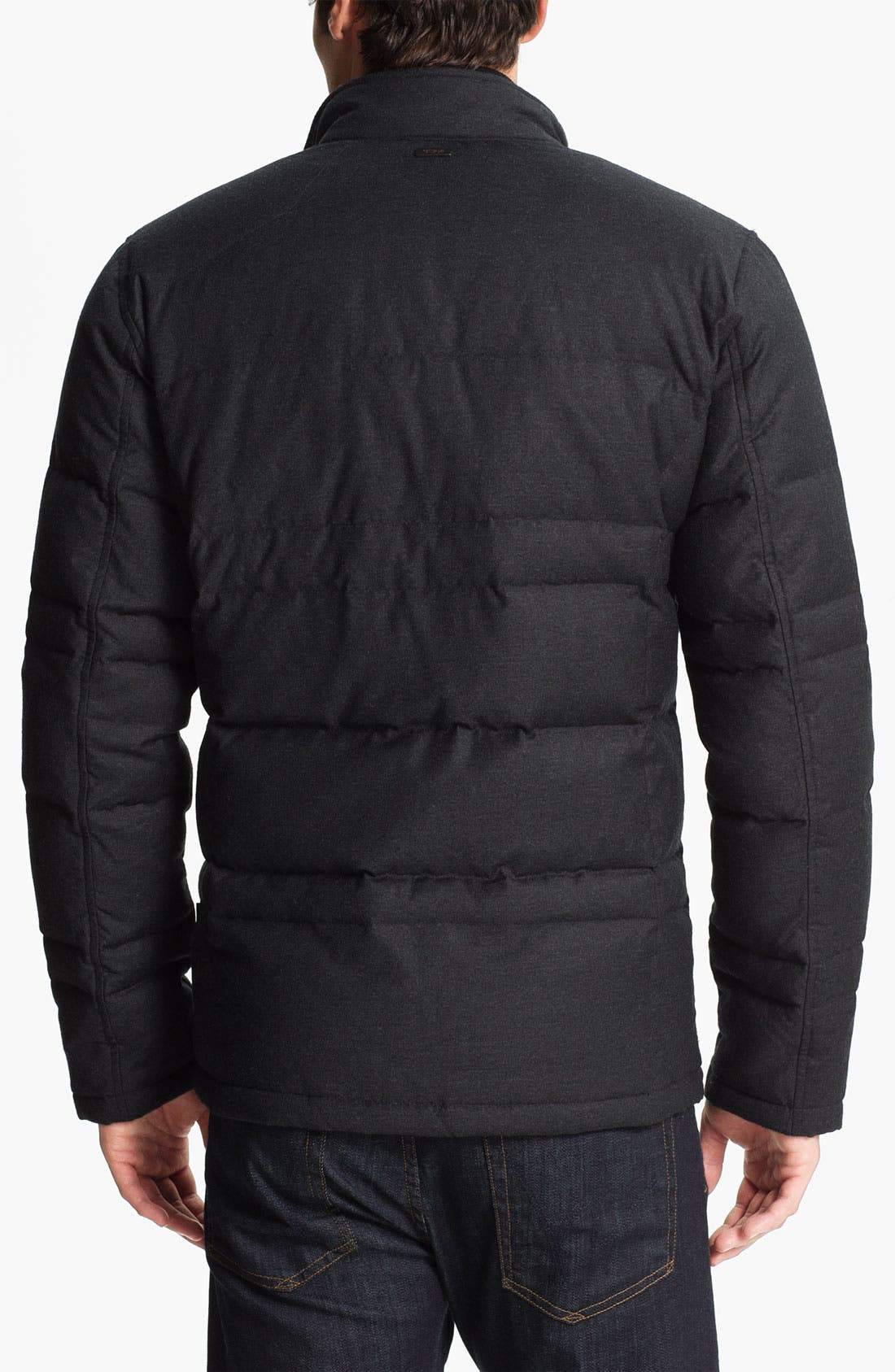 Alternate Image 2  - Tumi Wool & Cashmere Puffer Jacket with Down Fill