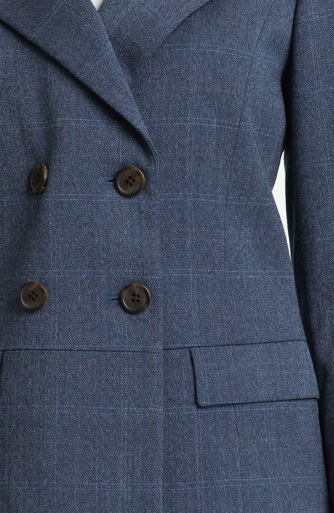 Alternate Image 3  - Anne Klein Patterned Menswear Jacket